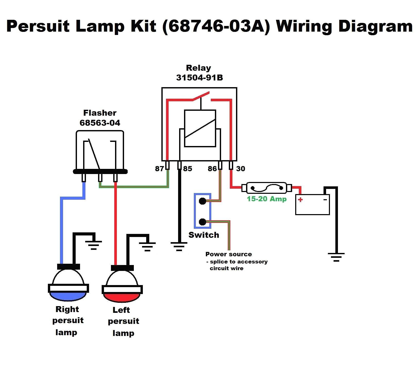 6 volt flasher wiring diagram