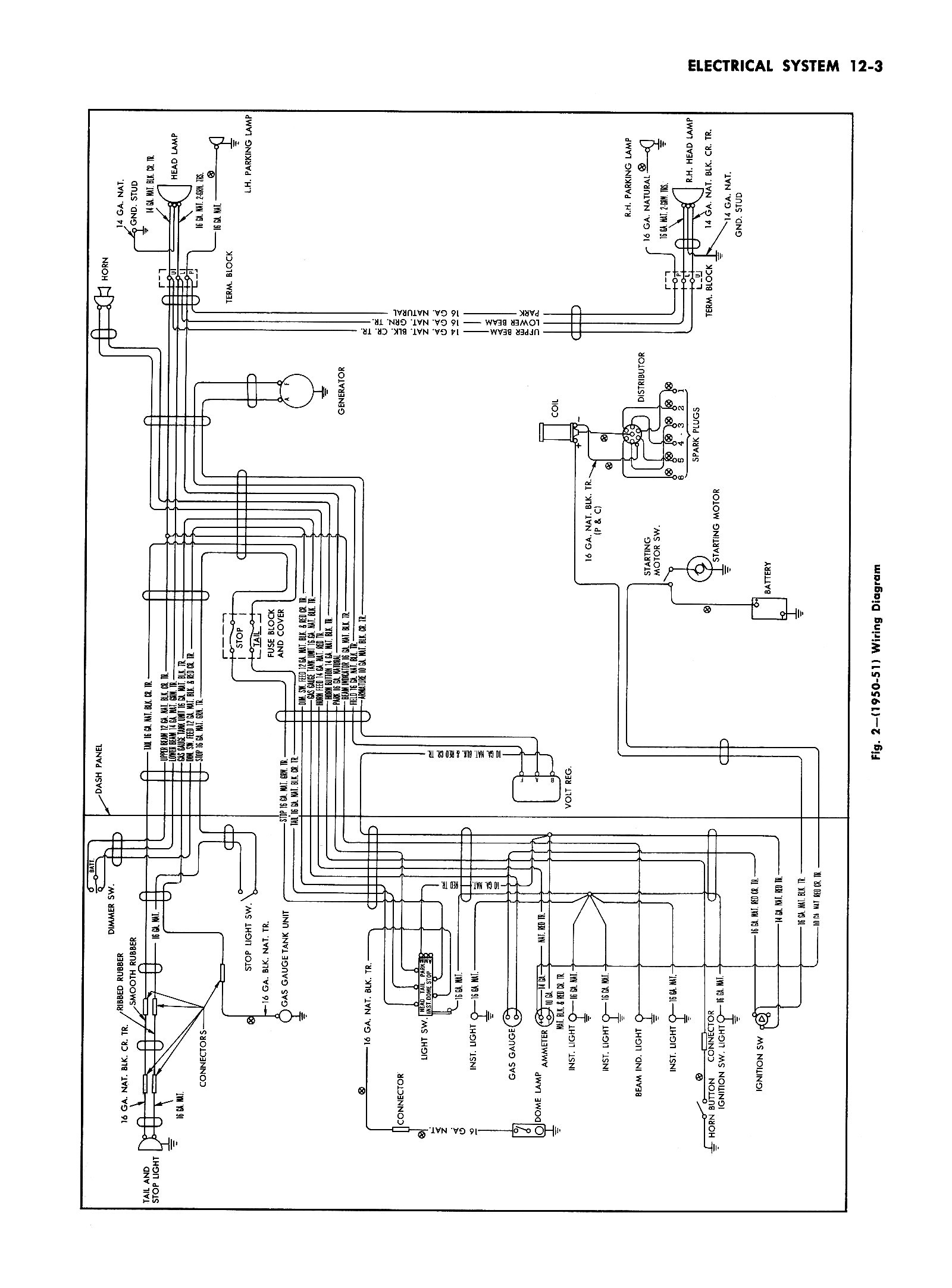 1951 chevy truck wiring diagram 1957 chevy heater wiring