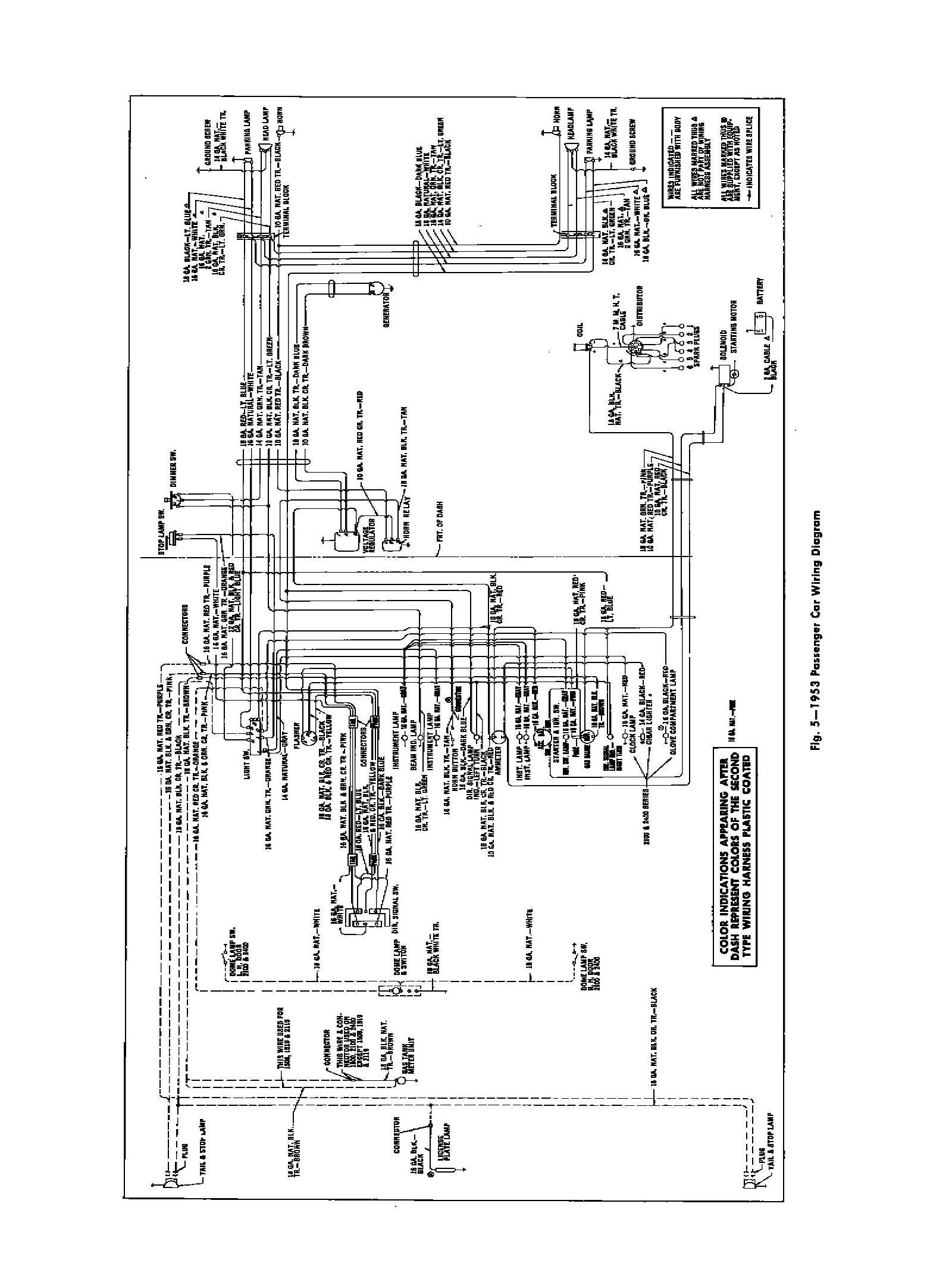 1953 Chevy Truck Wiring Diagram Chevy Wiring Diagrams Of 1953 Chevy Truck Wiring Diagram