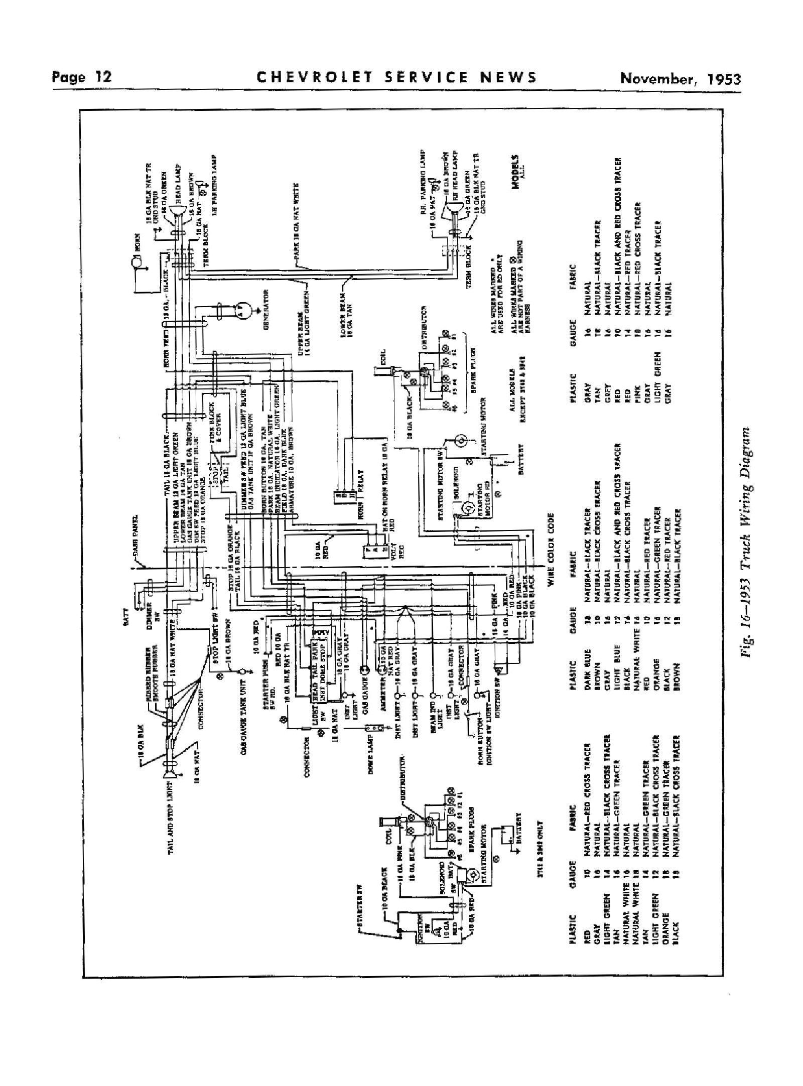 1951 ford pickup wiring diagram