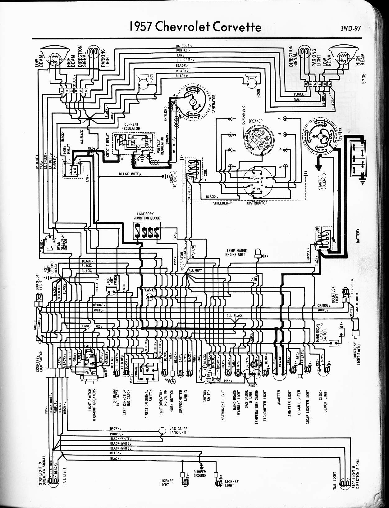1957 Chevy Truck Wiring Diagram 57 65 Chevy Wiring Diagrams Of 1957 Chevy Truck Wiring Diagram