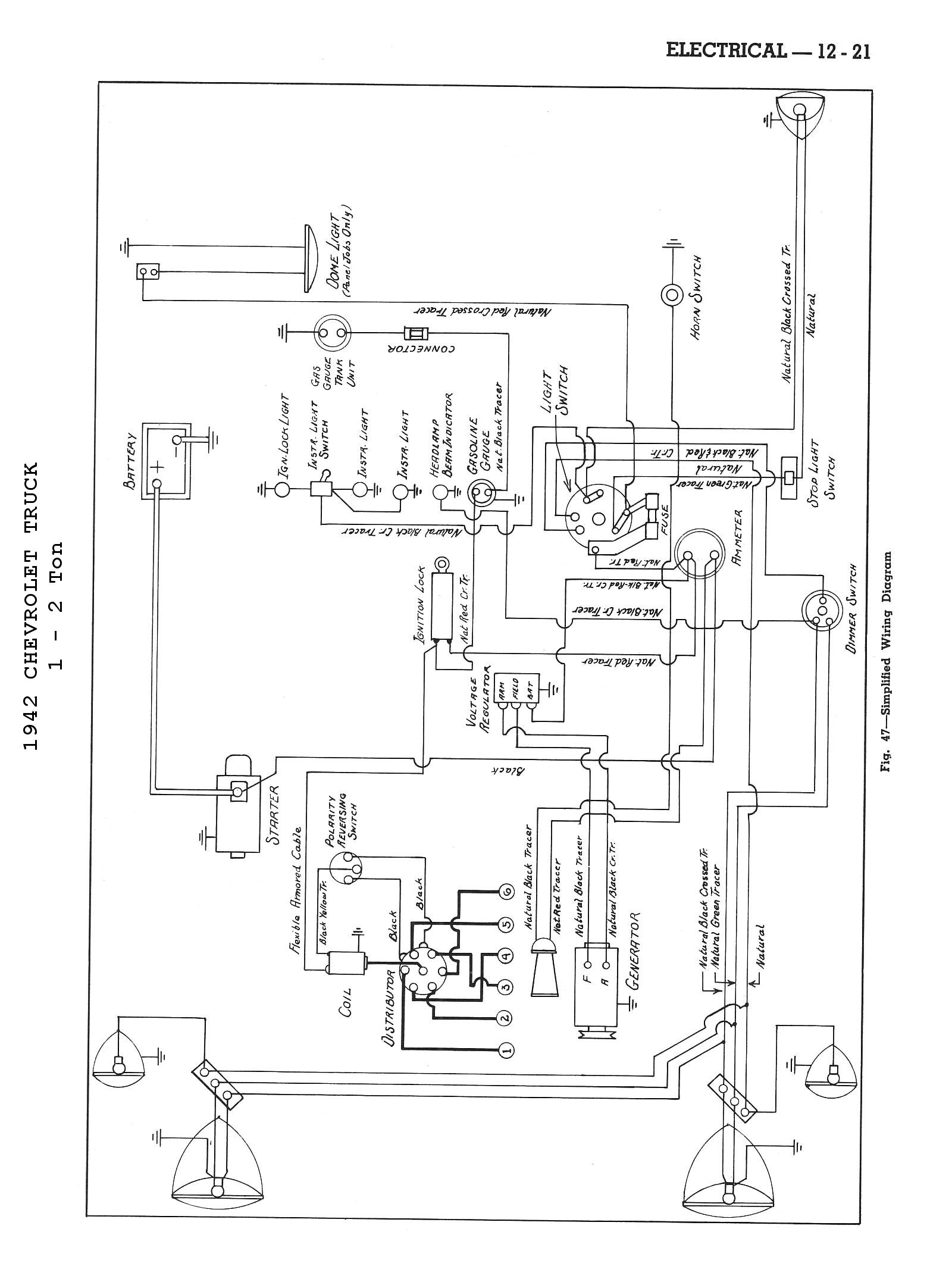 55 Chevy Dash Wiring Diagram - Wiring Diagrams Folder on