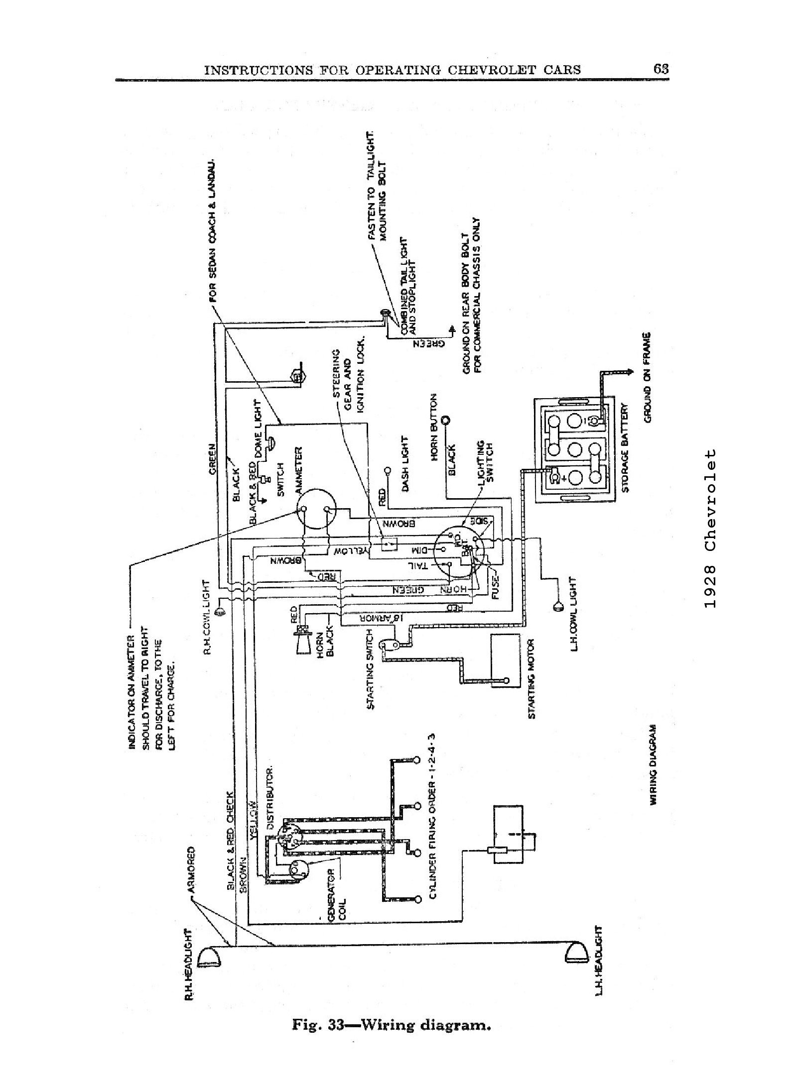 1957 Chevy Truck Wiring Diagram 1957 Chevy Heater Wiring Diagram ...