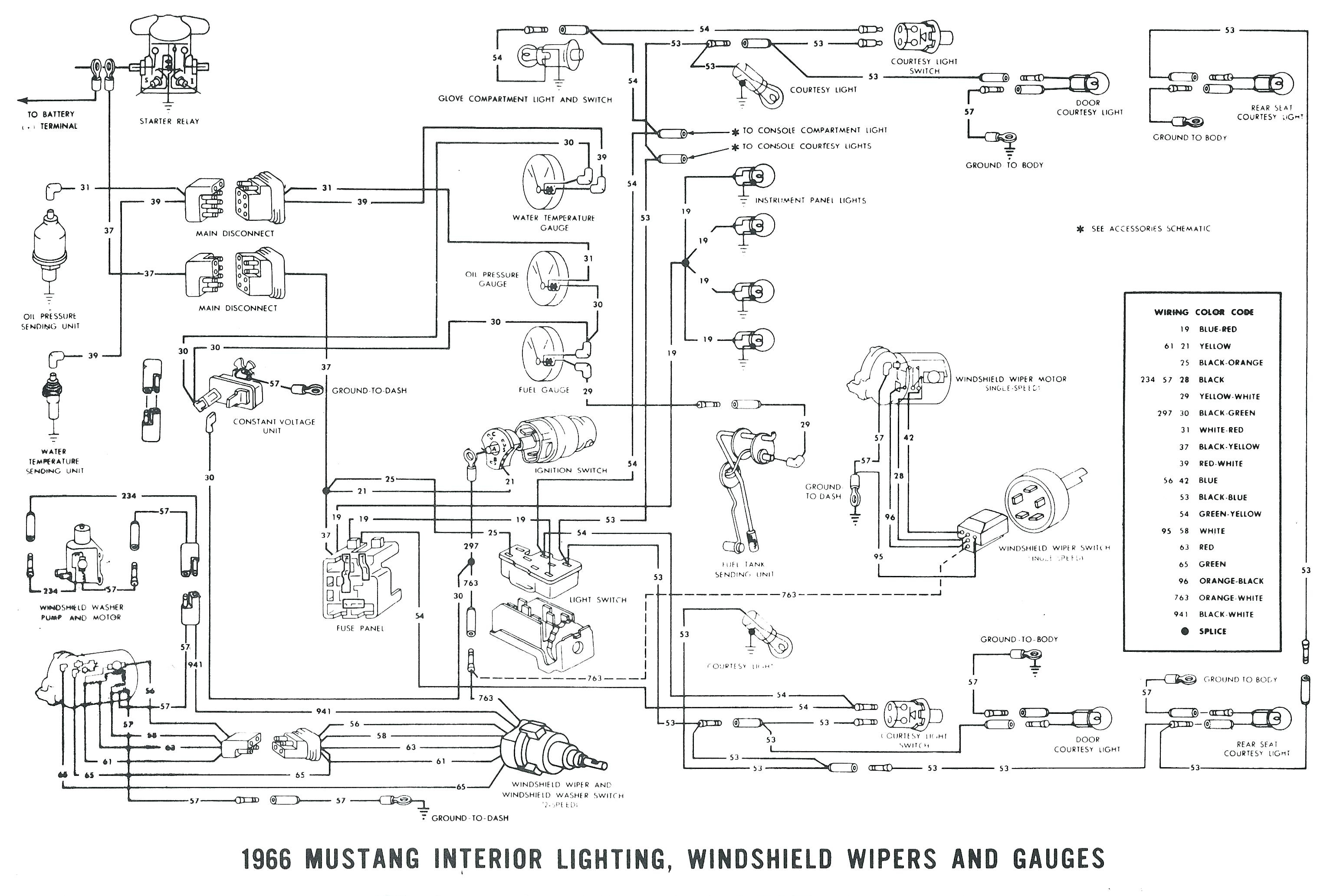 1968 Mustang Wiring Diagram 1990 ford Mustang Alternator Wiring ...