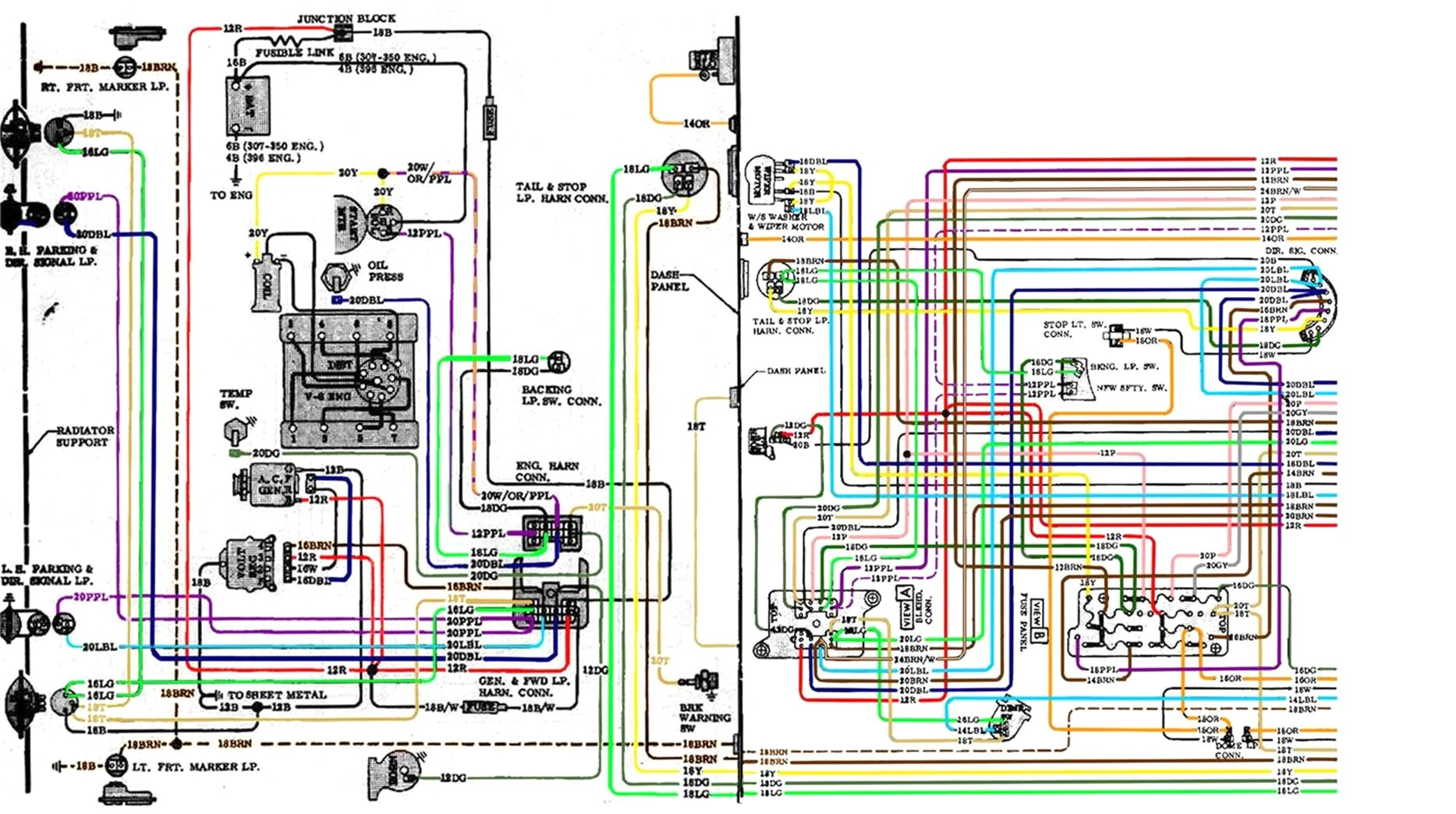 1970 Chevy Nova Wire Harness Diagram | Wiring Diagram on