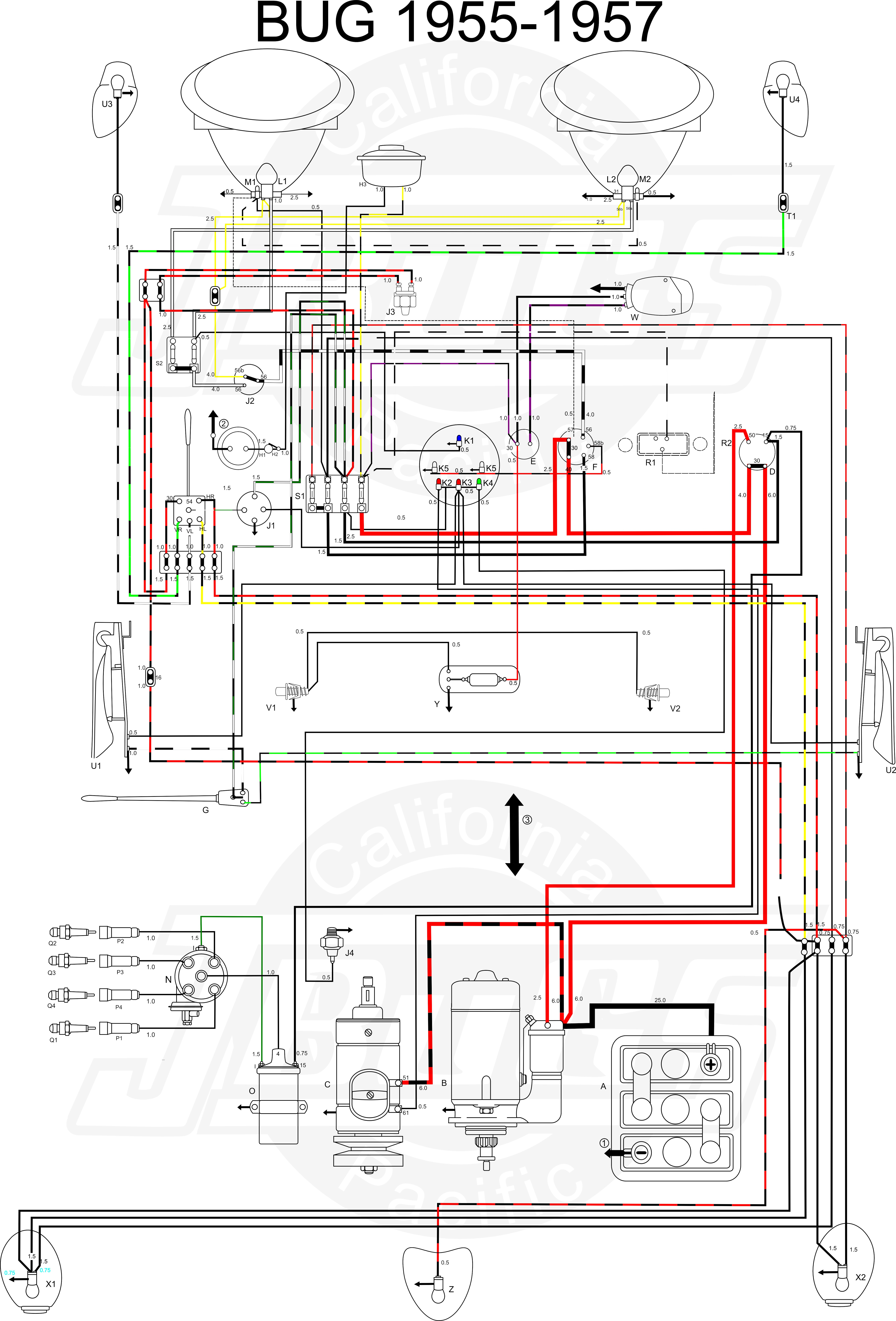 Ignition coil wiring diagram vw beetle wire center