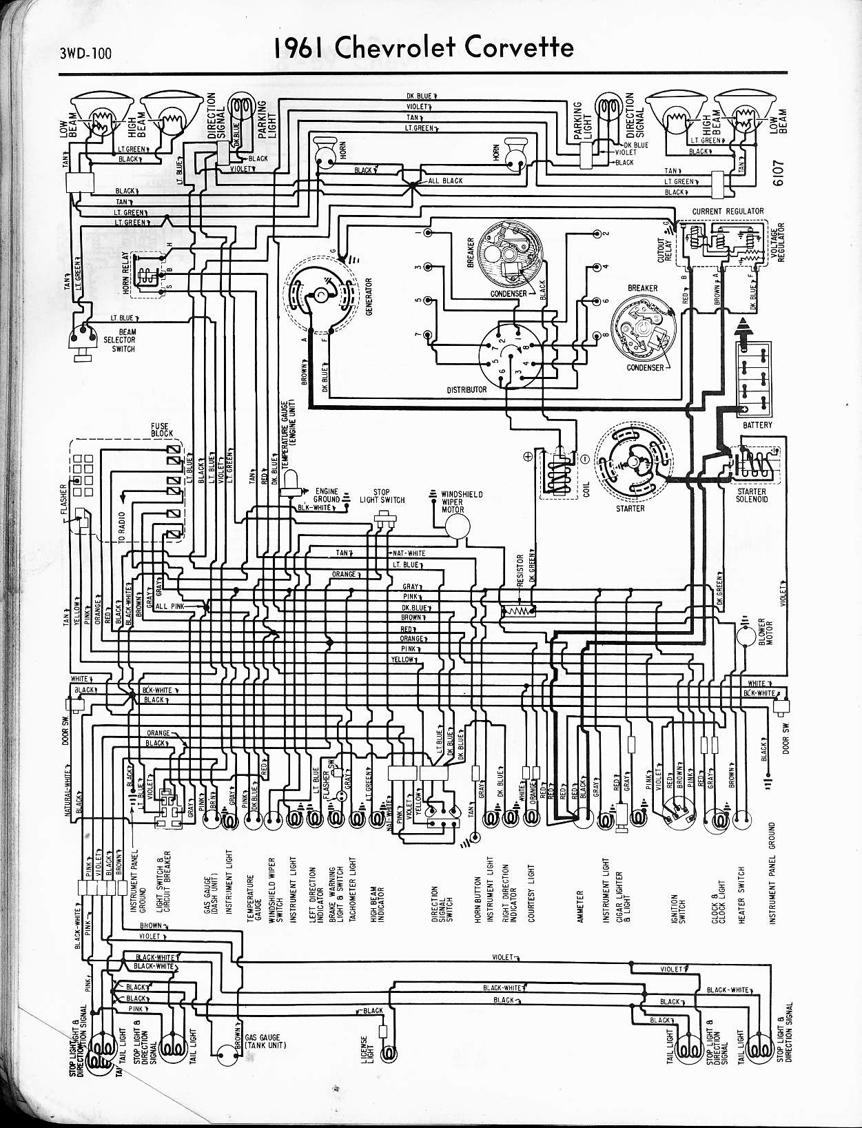 1979 Corvette Wiring Diagram 57 65 Chevy Wiring Diagrams – My Wiring ...