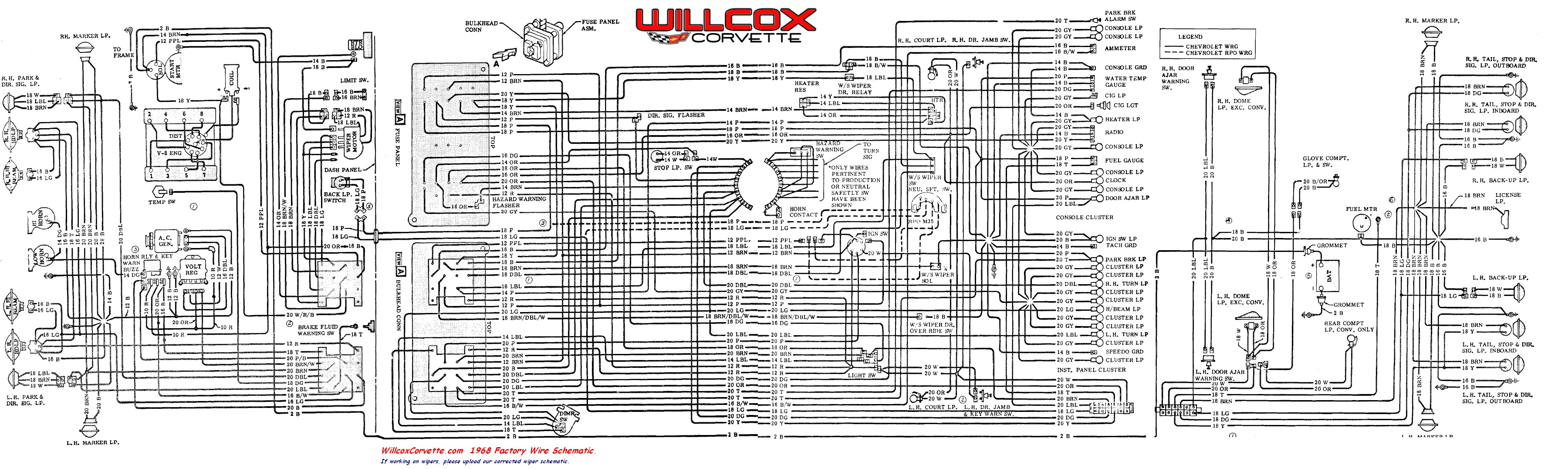 Wiring Diagram Corvette - Wiring Diagram