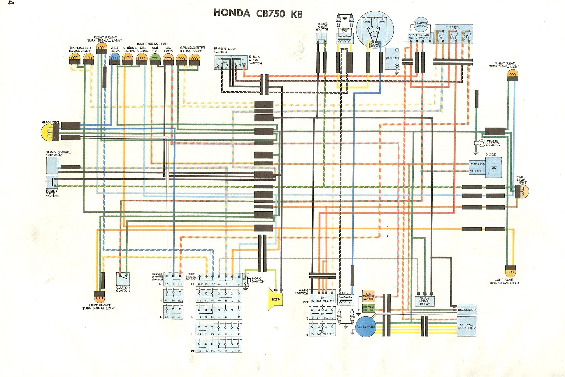 1980 honda cb750 wiring diagram wiring library rh evevo co 1980 honda cb750c wiring diagram Fuse Box Wiring Diagram