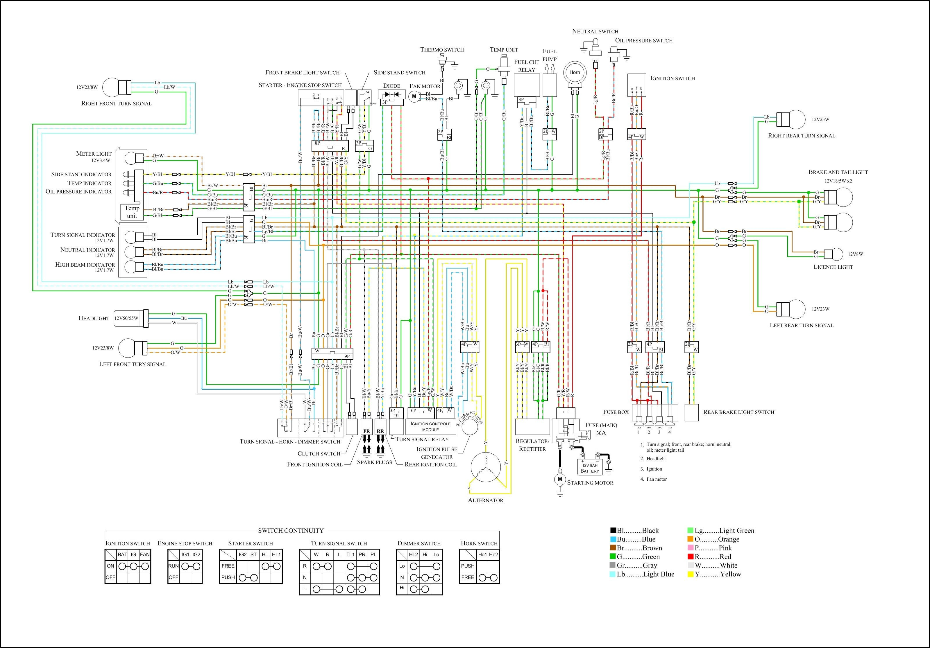 suzuki gs850 wiring diagram yamaha xs400 wiring diagram