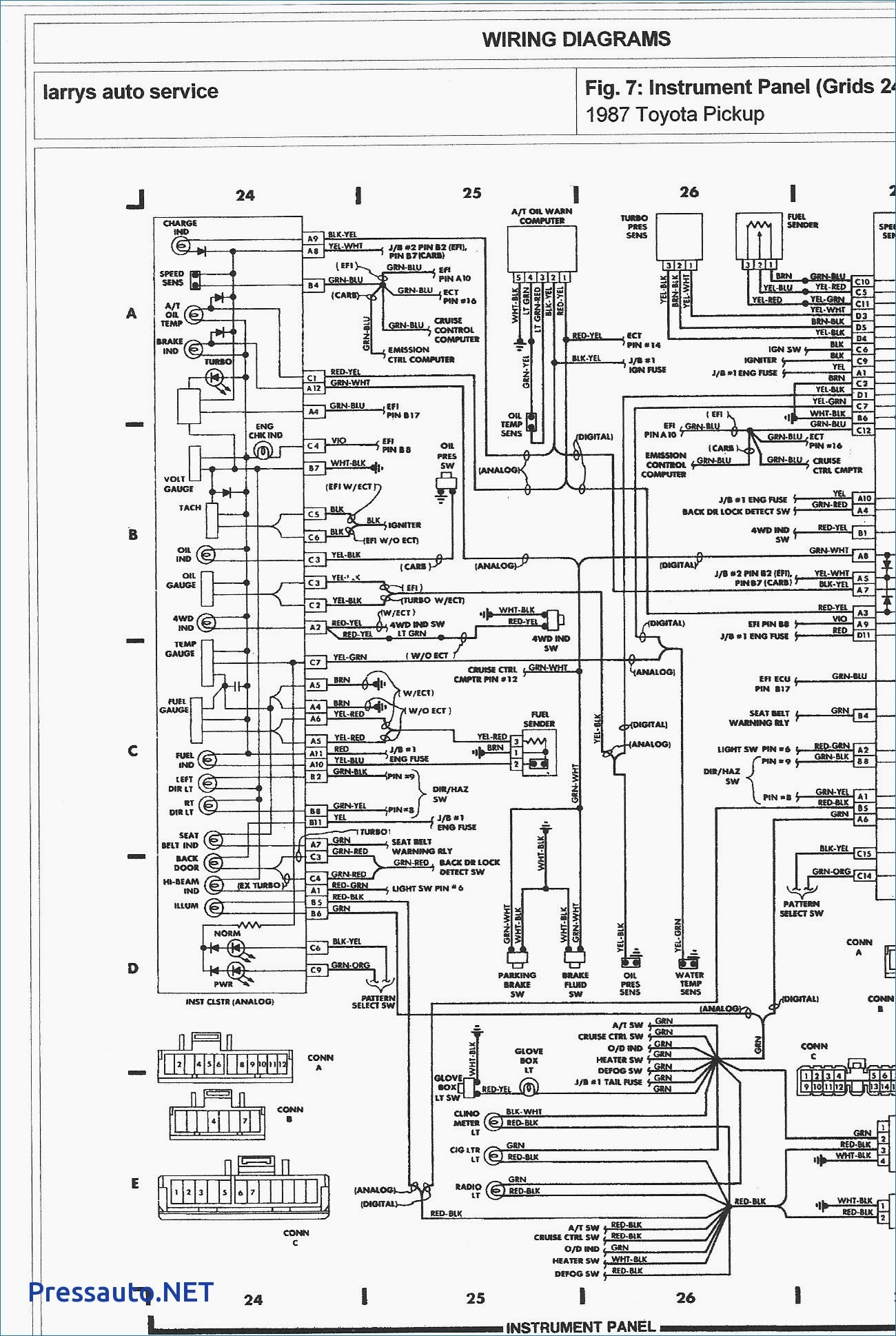 1983 toyota Pickup Wiring Diagram Amazing 1986 toyota Pickup Wiring Diagram Everything You Of 1983 toyota Pickup Wiring Diagram