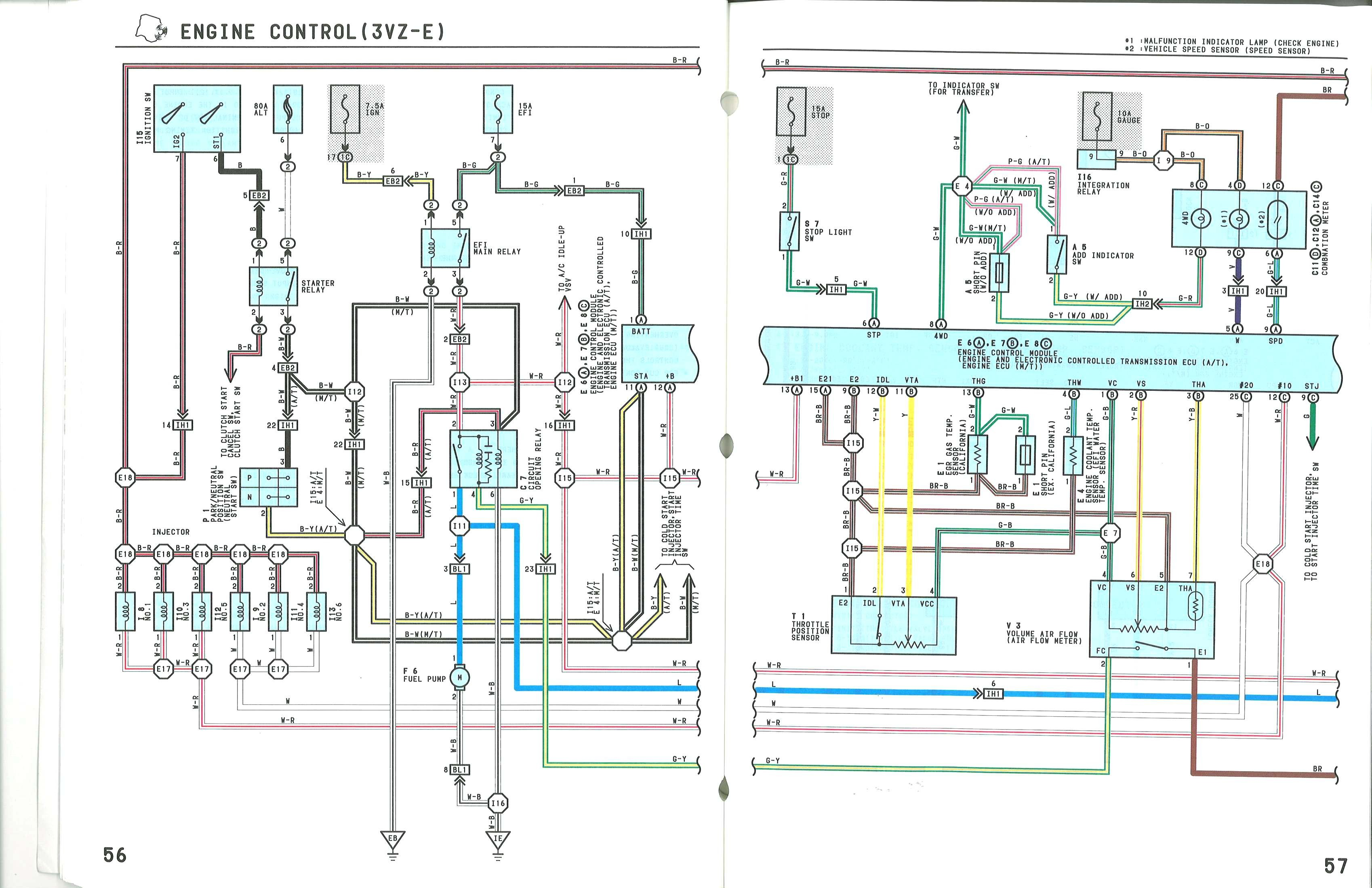 Toyota Pickup Tail Light Wiring Diagram On 89 Toyota Pickup Wiring ...