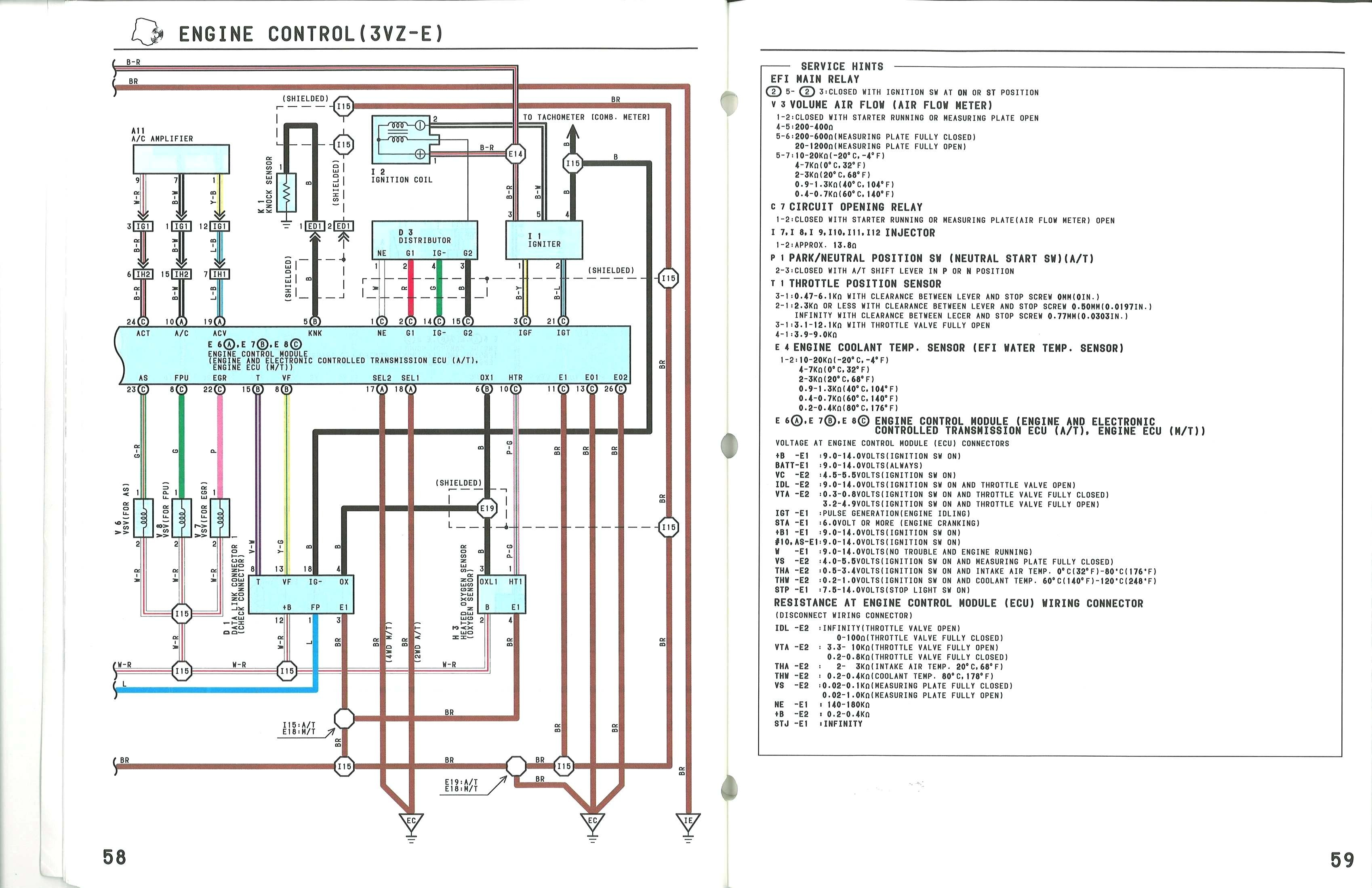 1988 toyota Pickup Engine Diagram 1988 toyota Pickup Fuse Diagram Alternator Wiring Used Electric Of 1988 toyota Pickup Engine Diagram