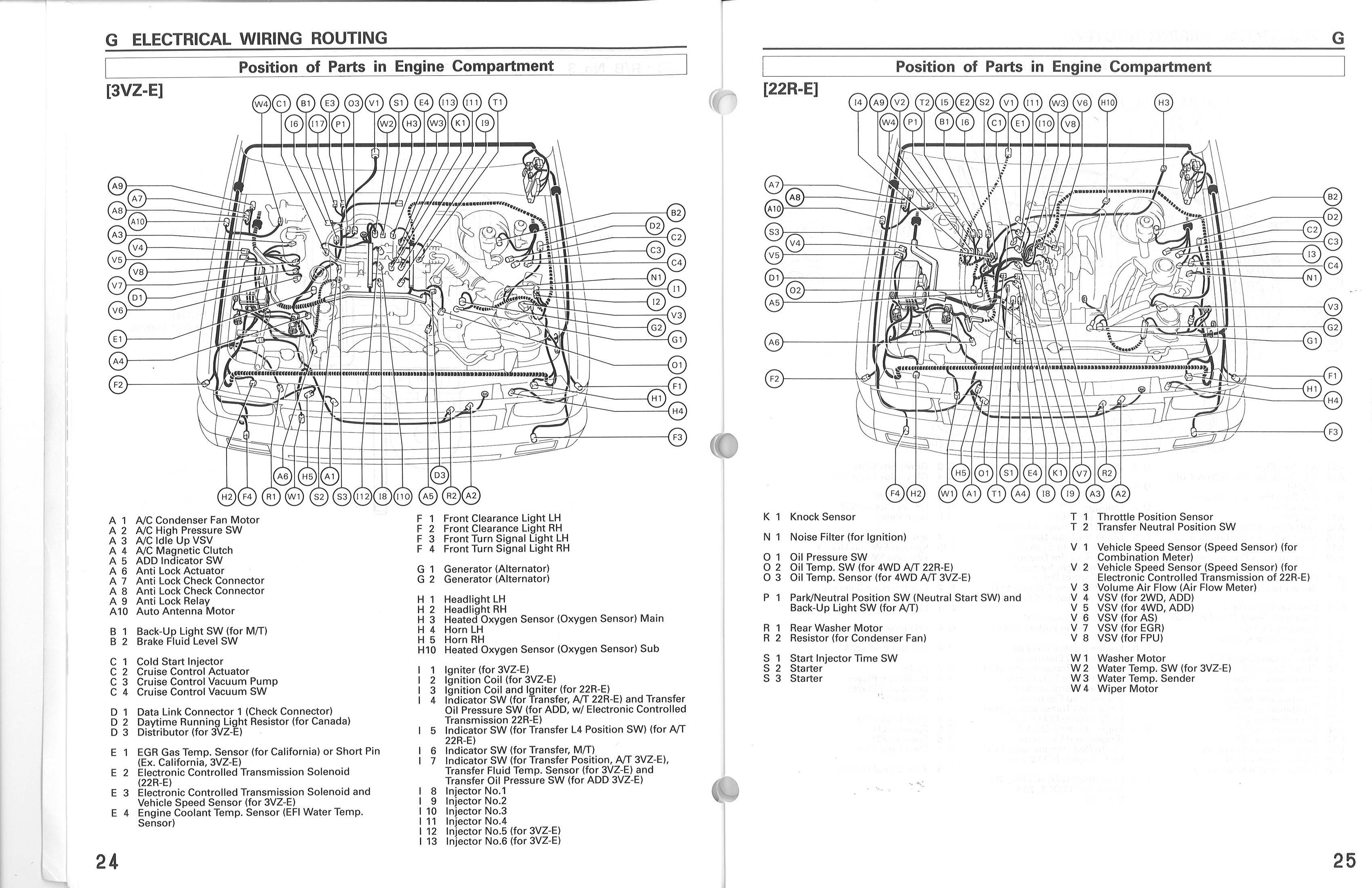 1988 Toyota Pickup Wiring Schematic Wiring Diagram