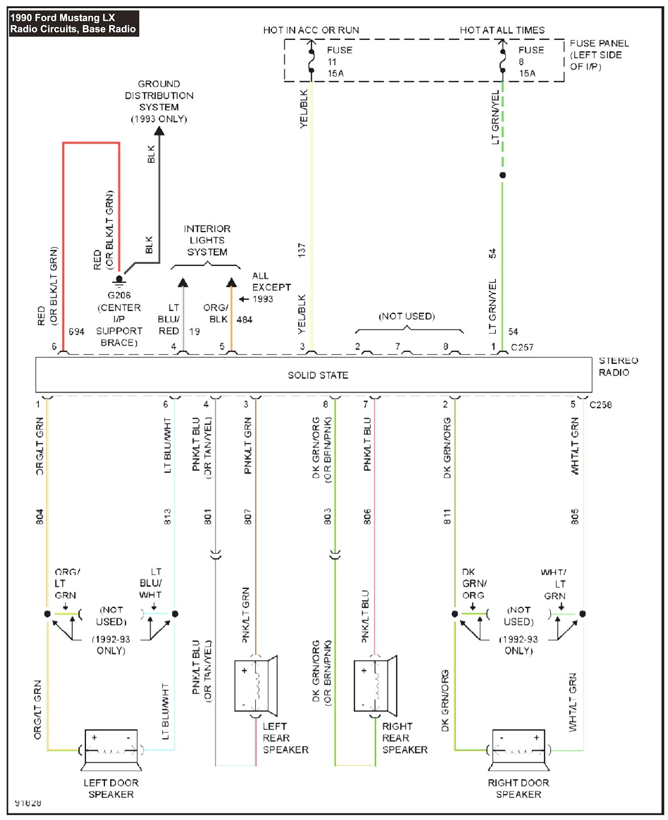 1990 Mustang Wiring Diagram My Ktm Duke 125 Fresh 2007 Ford 78 In With 93