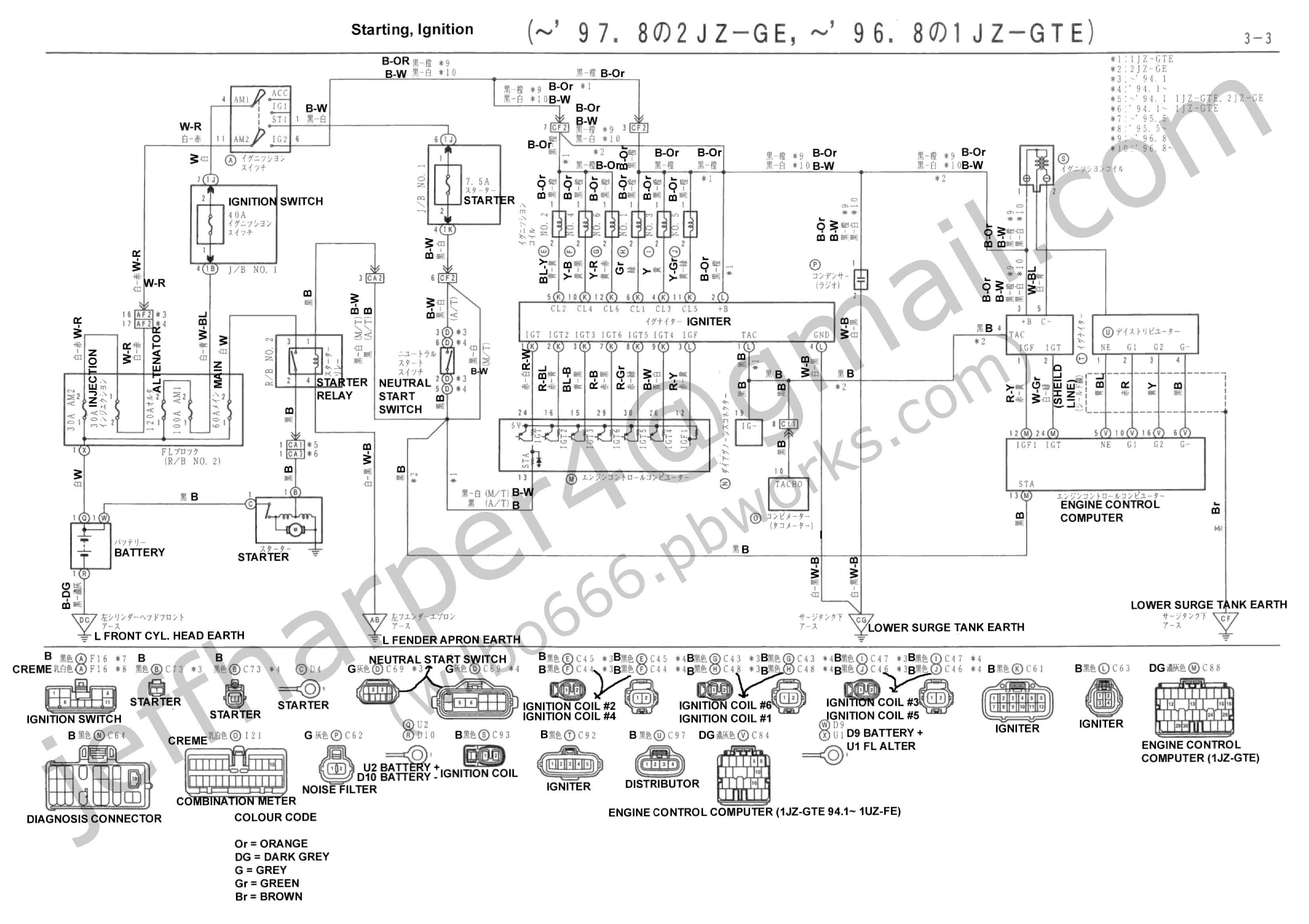 1986 Toyota Pickup Wiring Diagram Library 93 Camry Engine Parts U2022 For Free