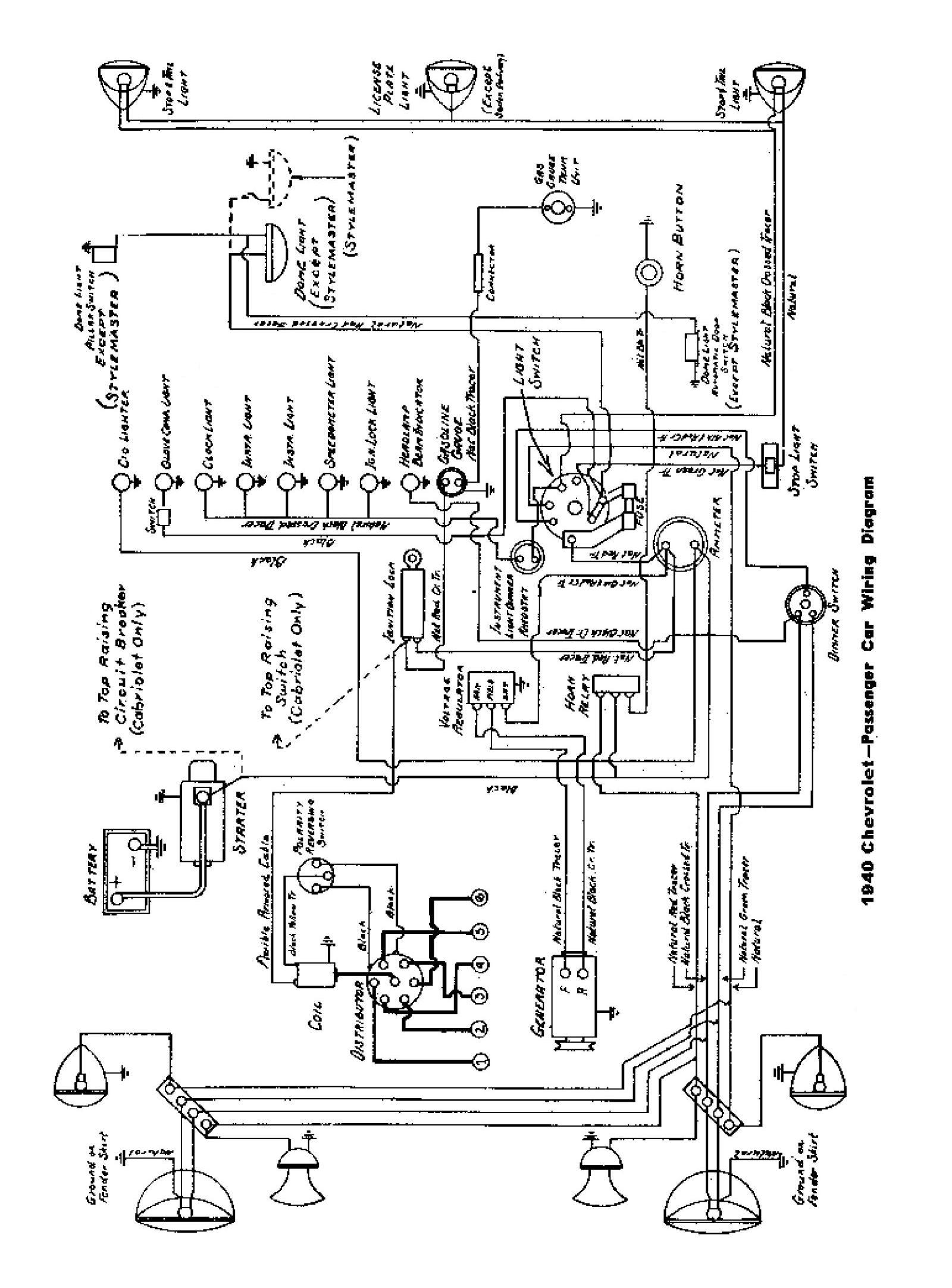 1954 chevy truck wiring diagram