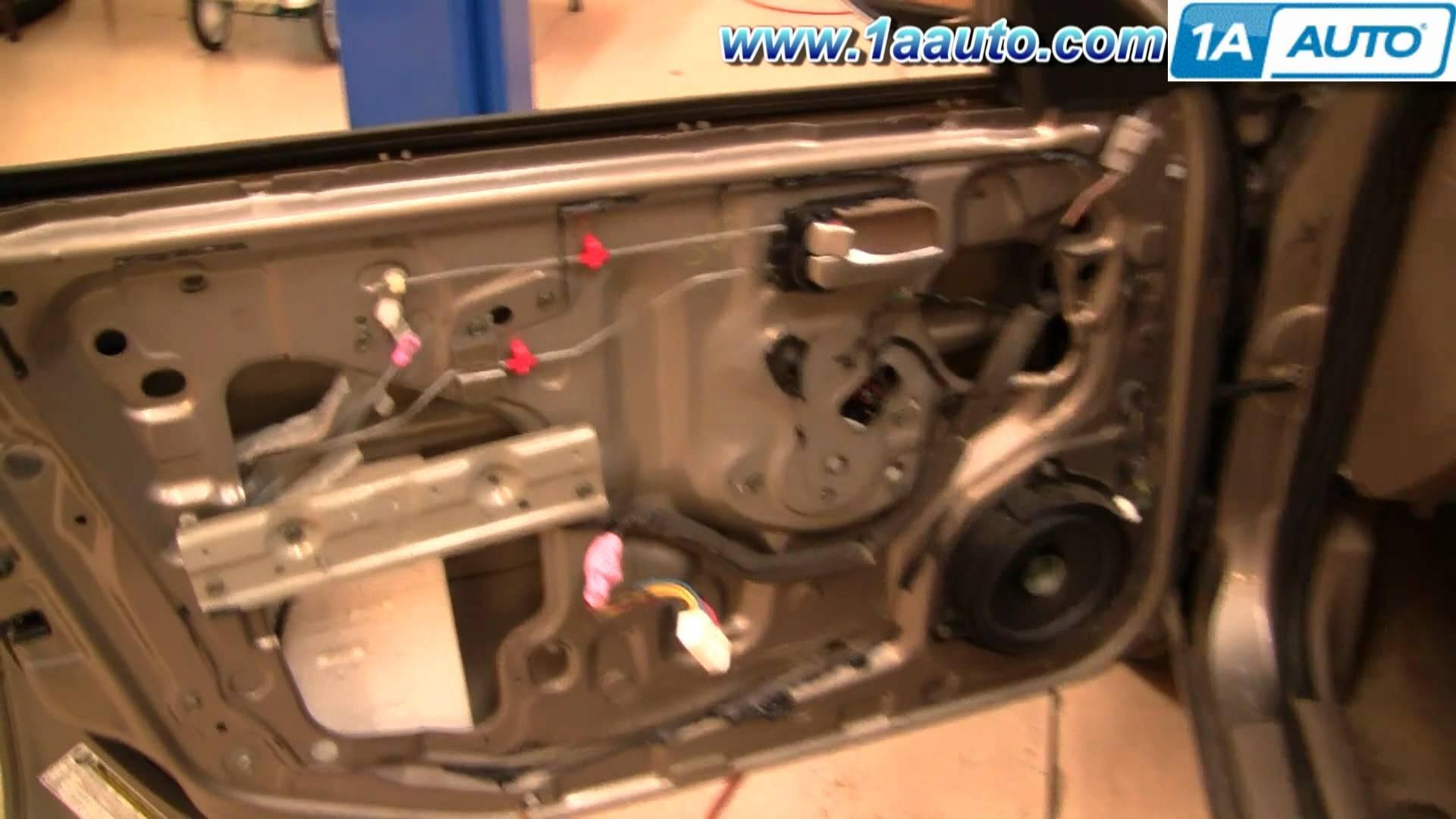 1994 Nissan Sentra Engine Diagram 1997 2007 Kia Altima Fuse Box How To Install Replace Power Window Motor Or Regulator
