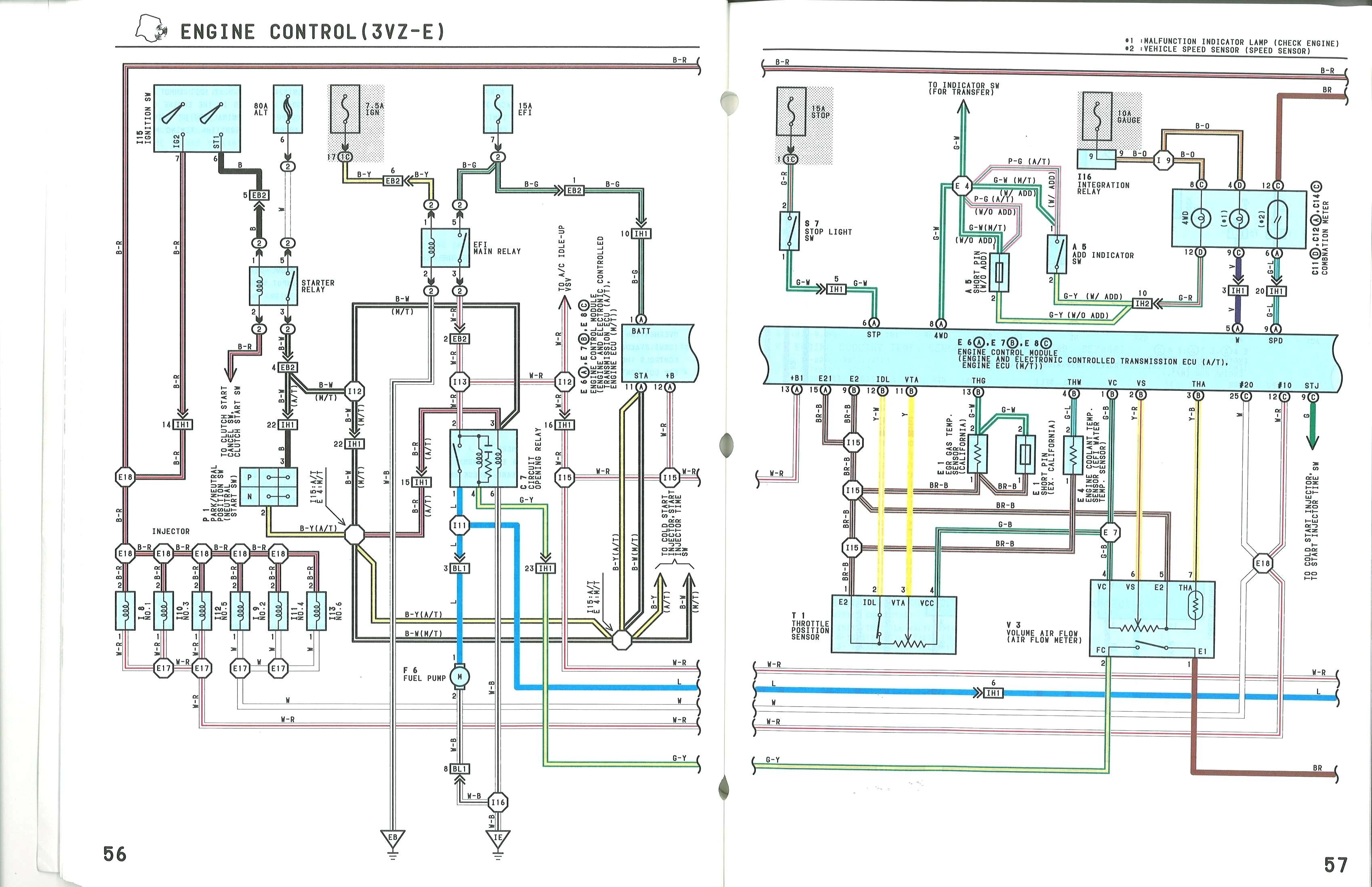 1986 Toyota Pickup 22r Wiring Diagram Solutions Diagrams Automotive 1994 22re Engine Rebuild Auto Electrical