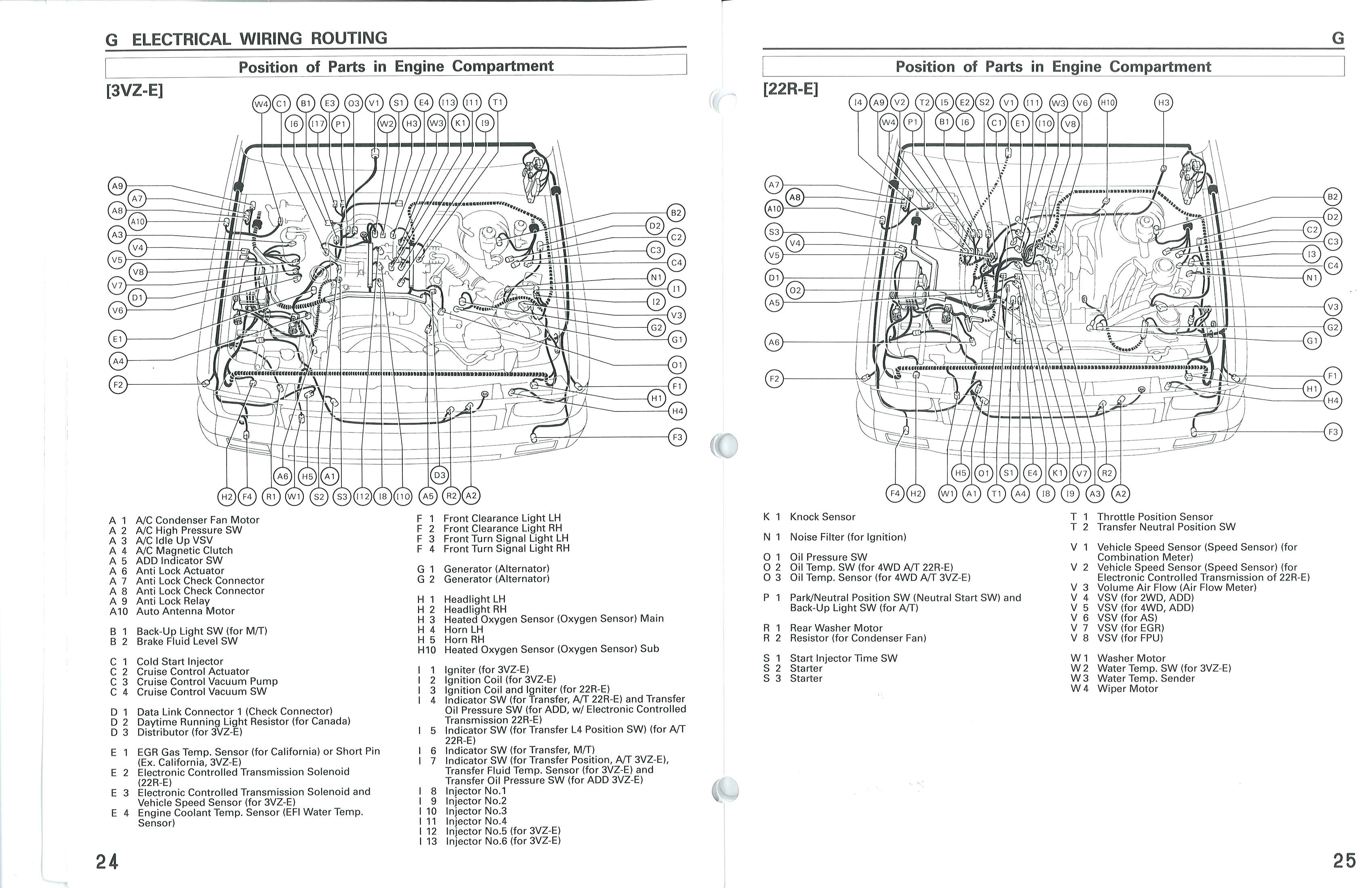 1993 toyota truck parts diagram  u2022 wiring diagram for free