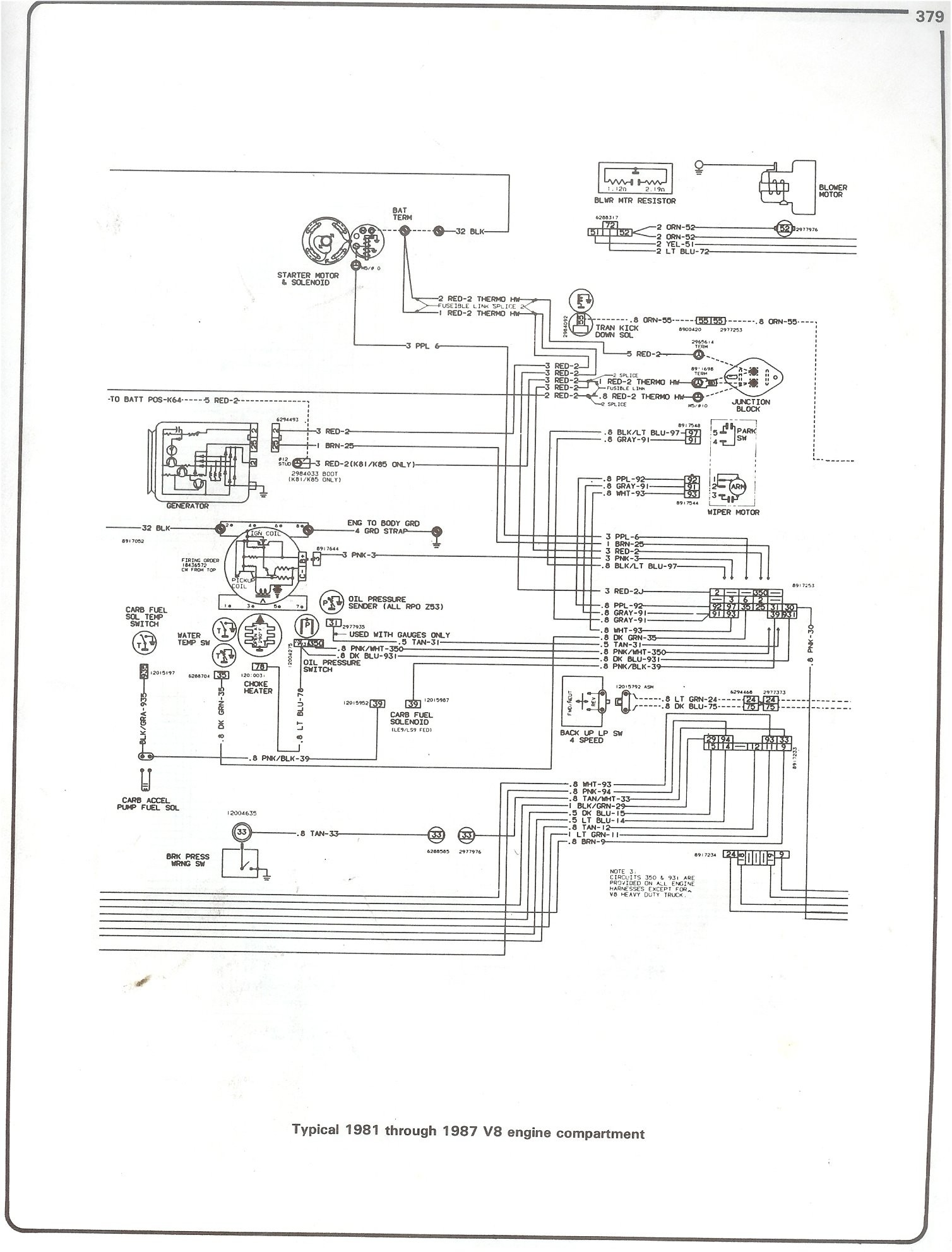 1972 K10 Wiring Diagram Free For You 86 Chevy 305 1986 Of Truck Library 1978 1973