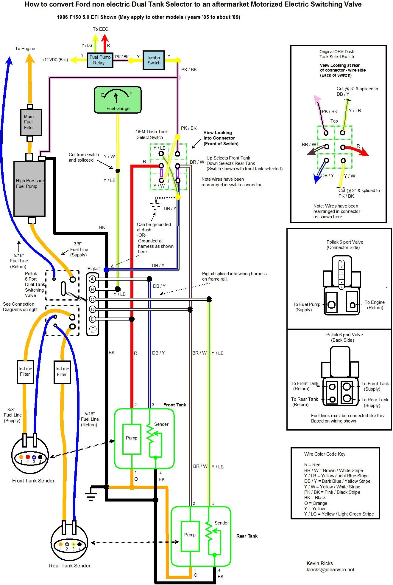 1988 Ford F 150 Fuel Tank Wiring - Schema Wiring Diagrams