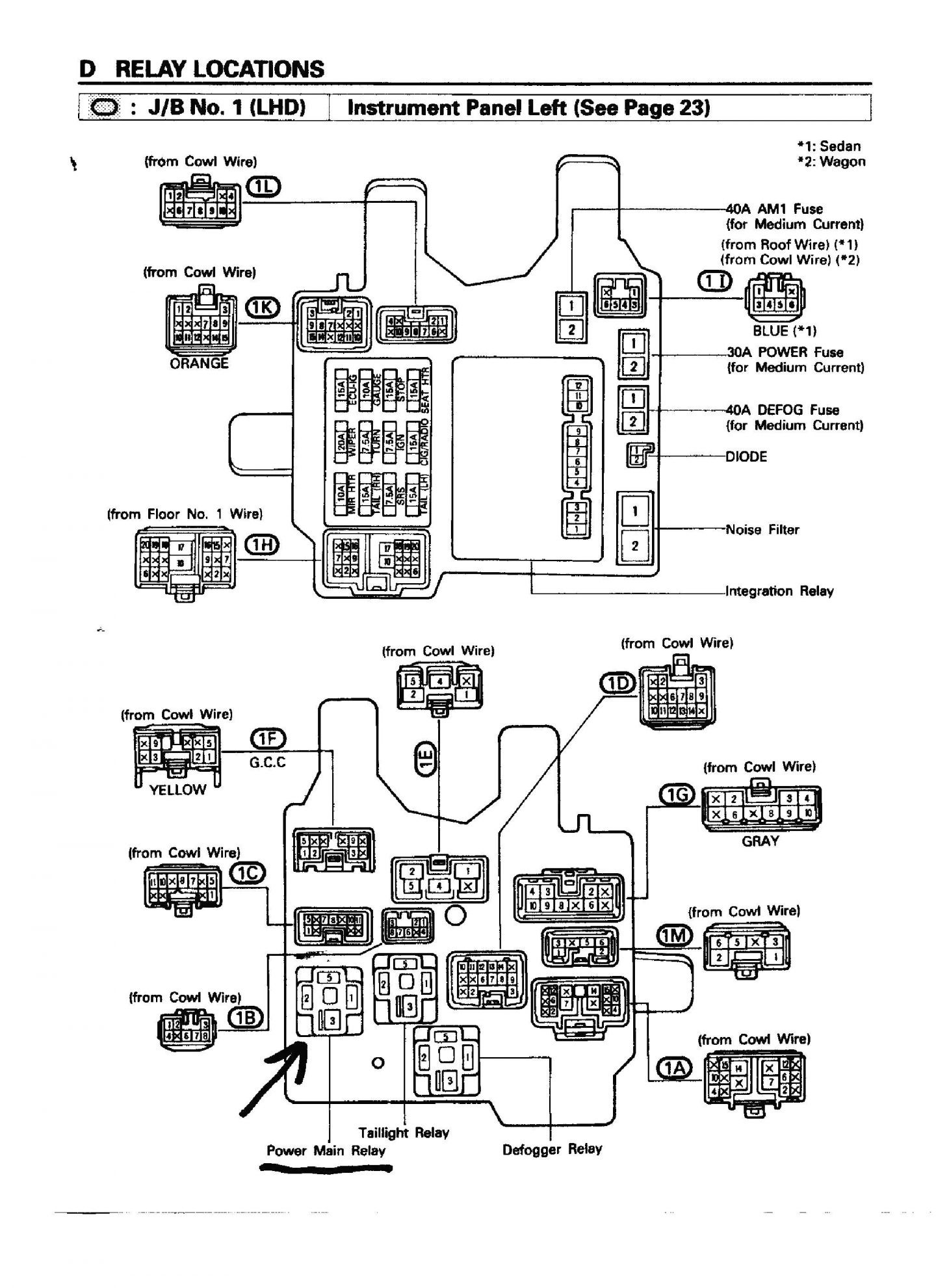 Toyota Tacoma Tail Light Wiring Diagram Schematic Diagrams 1995 Trusted 1996