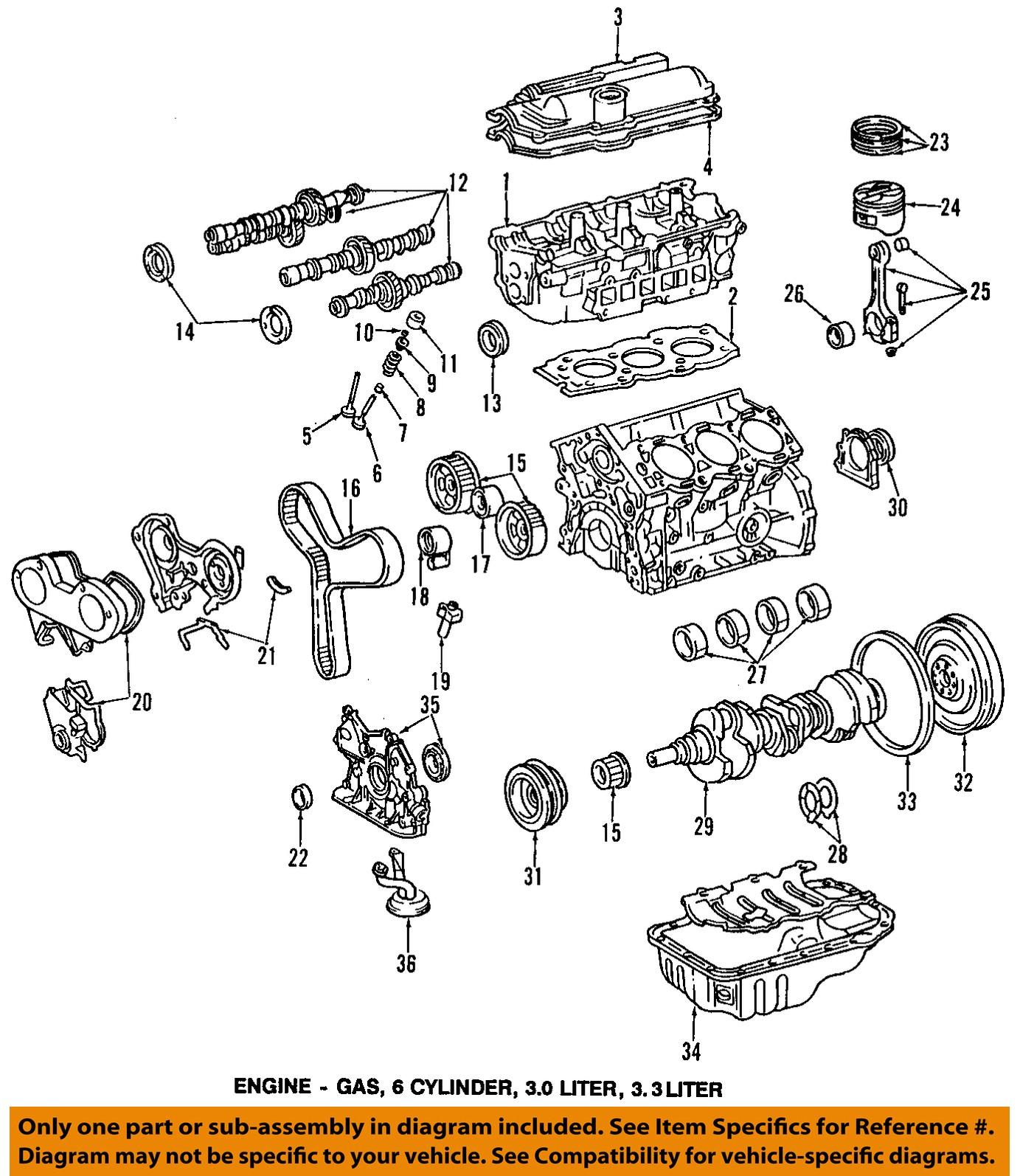 1997 toyota Camry Engine Diagram toyota Oem Valve Lifter Of 1997 toyota Camry Engine Diagram
