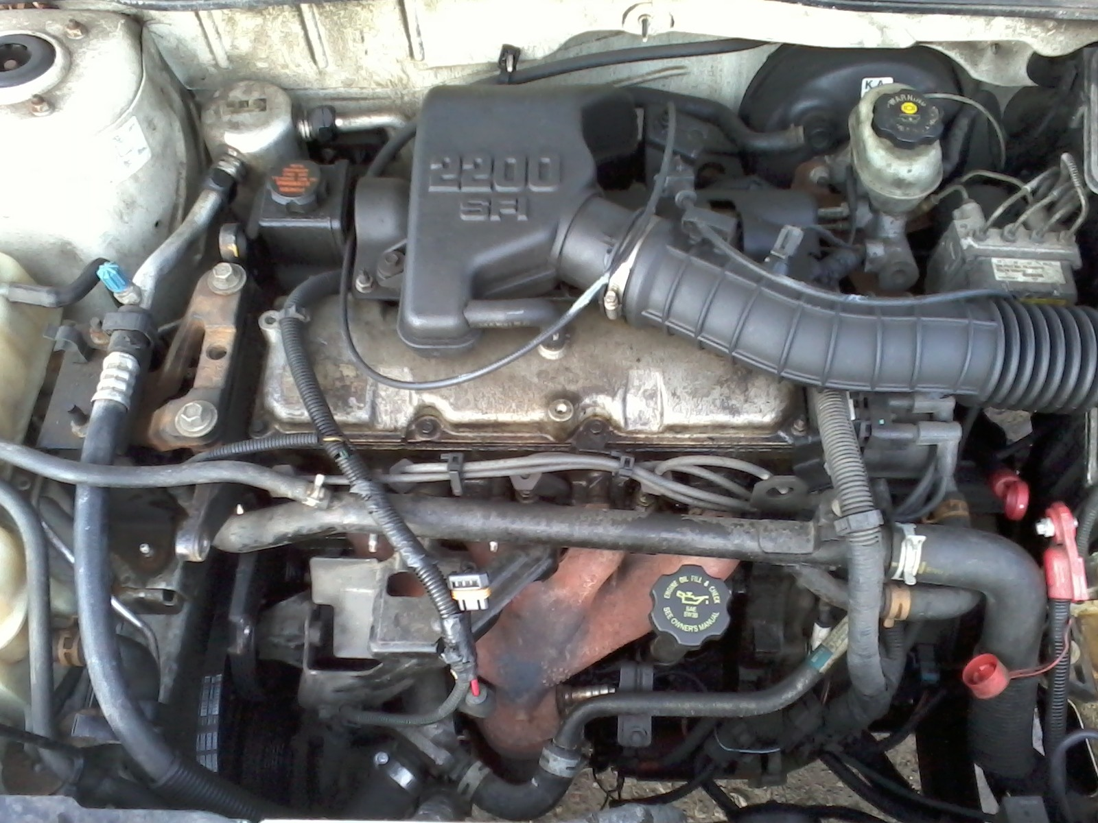pontiac 2 2l engine