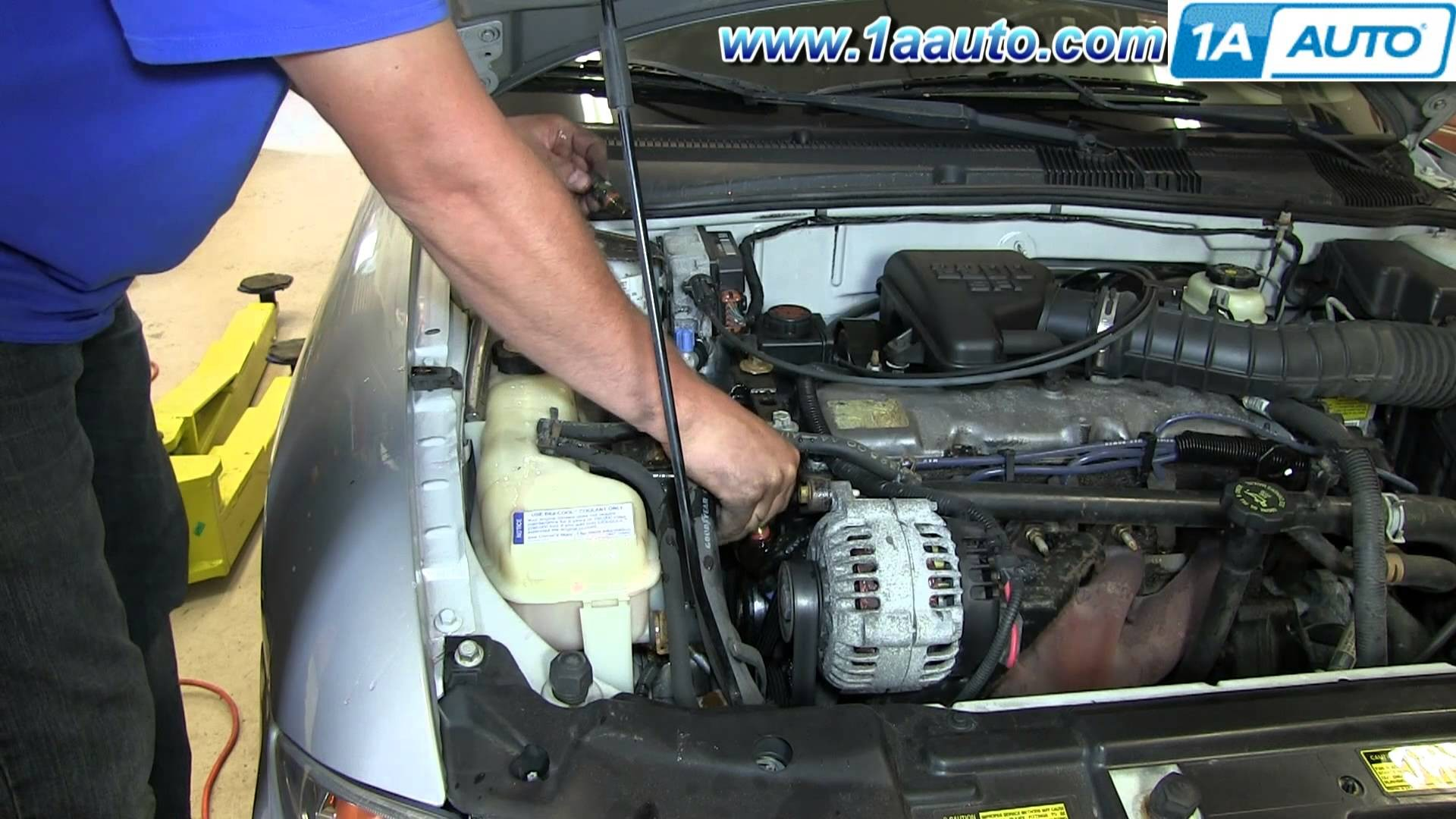 1998 Chevy Cavalier Engine Diagram How To Install Replace Coolant Temperature Sensor 1995 02
