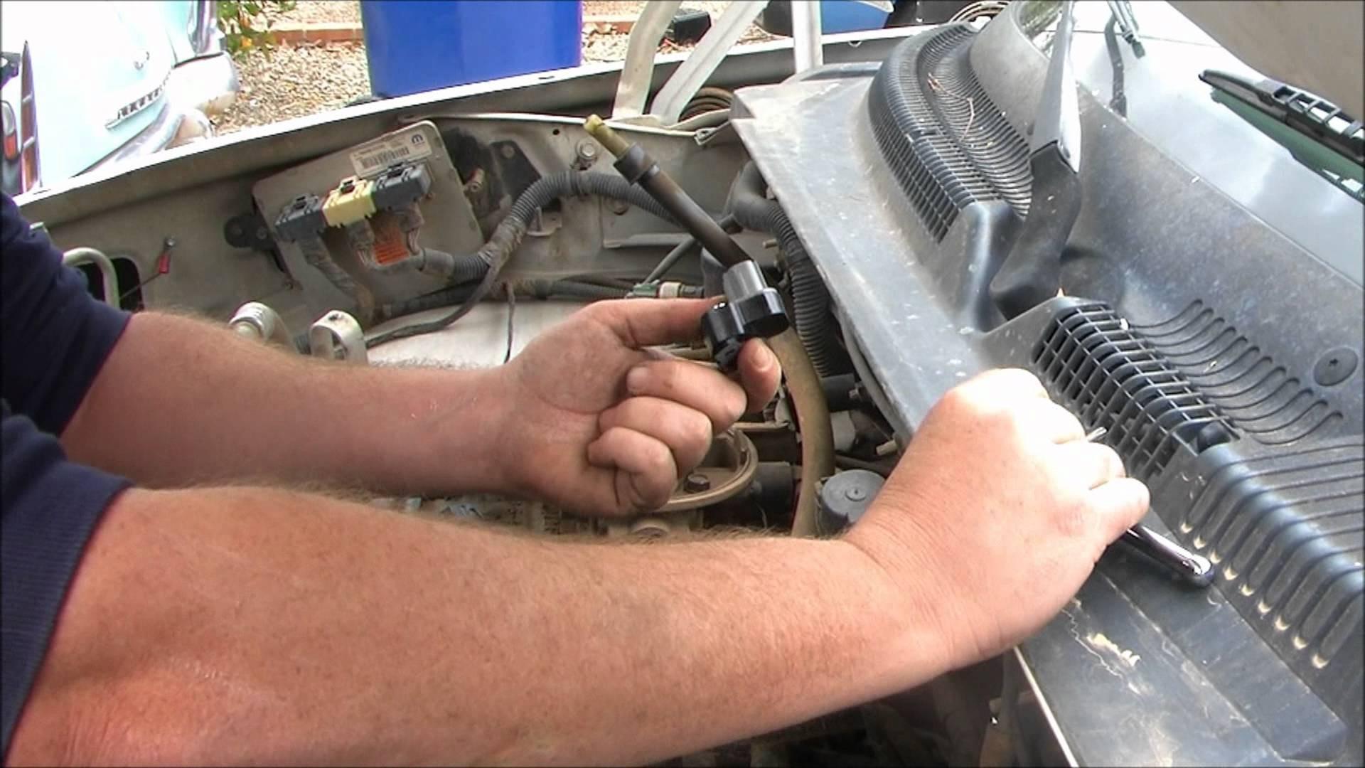 1998 Dodge Durango Fuse Box Diagram Wiring Library Jeep Engine Sensors Dakota Diagnose And Replace The Throttle Position Sensor Of