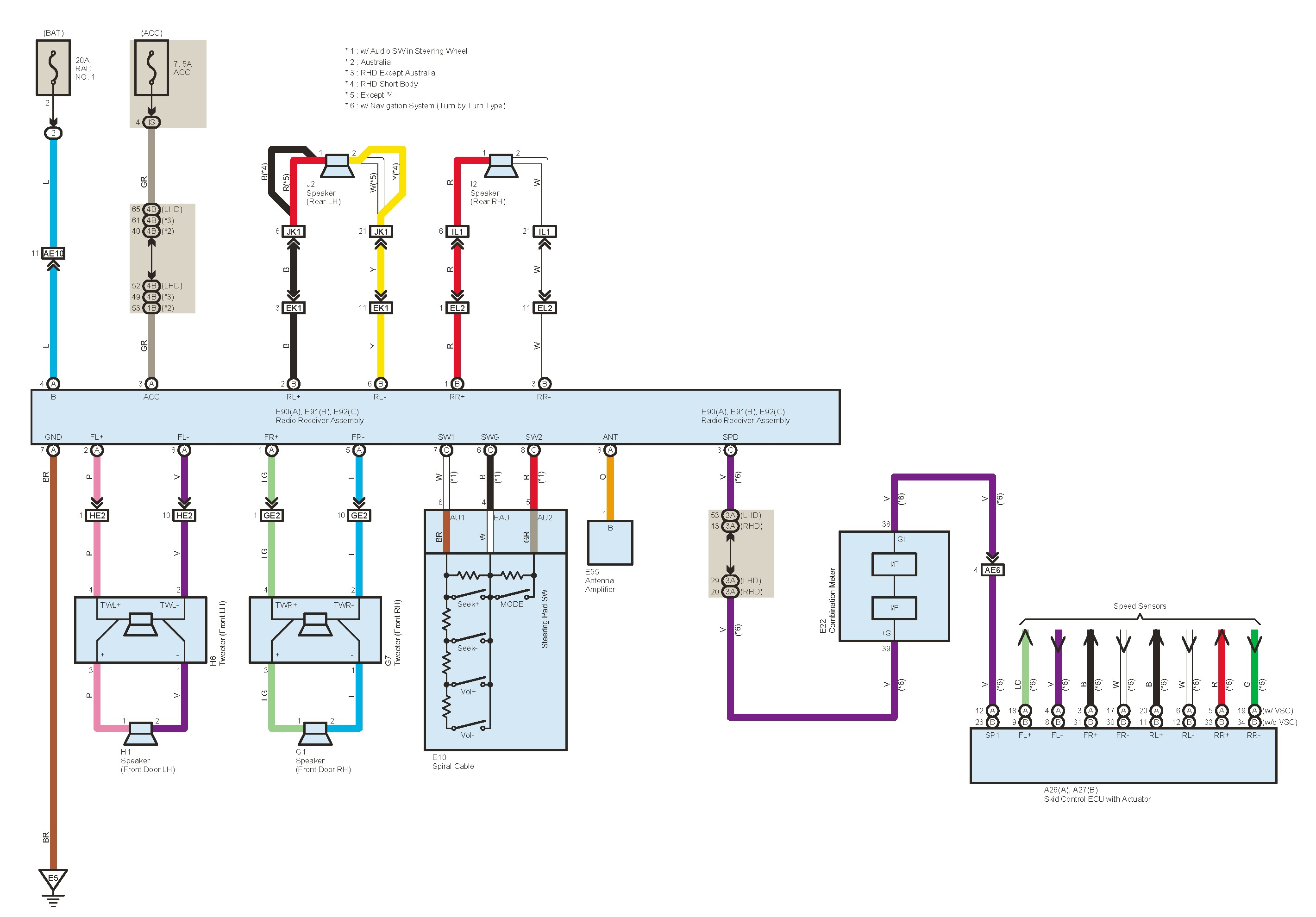 Toyota Rav4 Wiring - Wiring Diagrams Value on