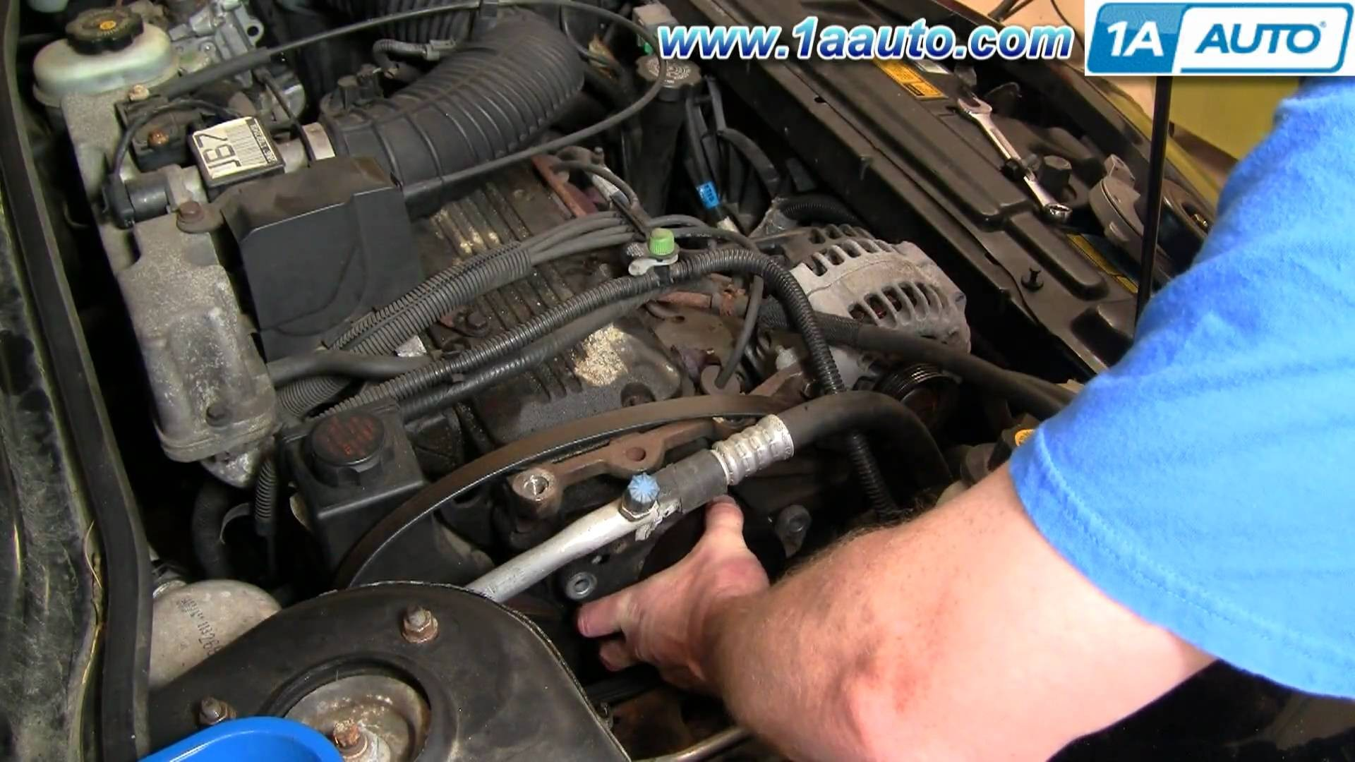 1999 Chevy Lumina Engine Diagram How to Install Replace Serpentine