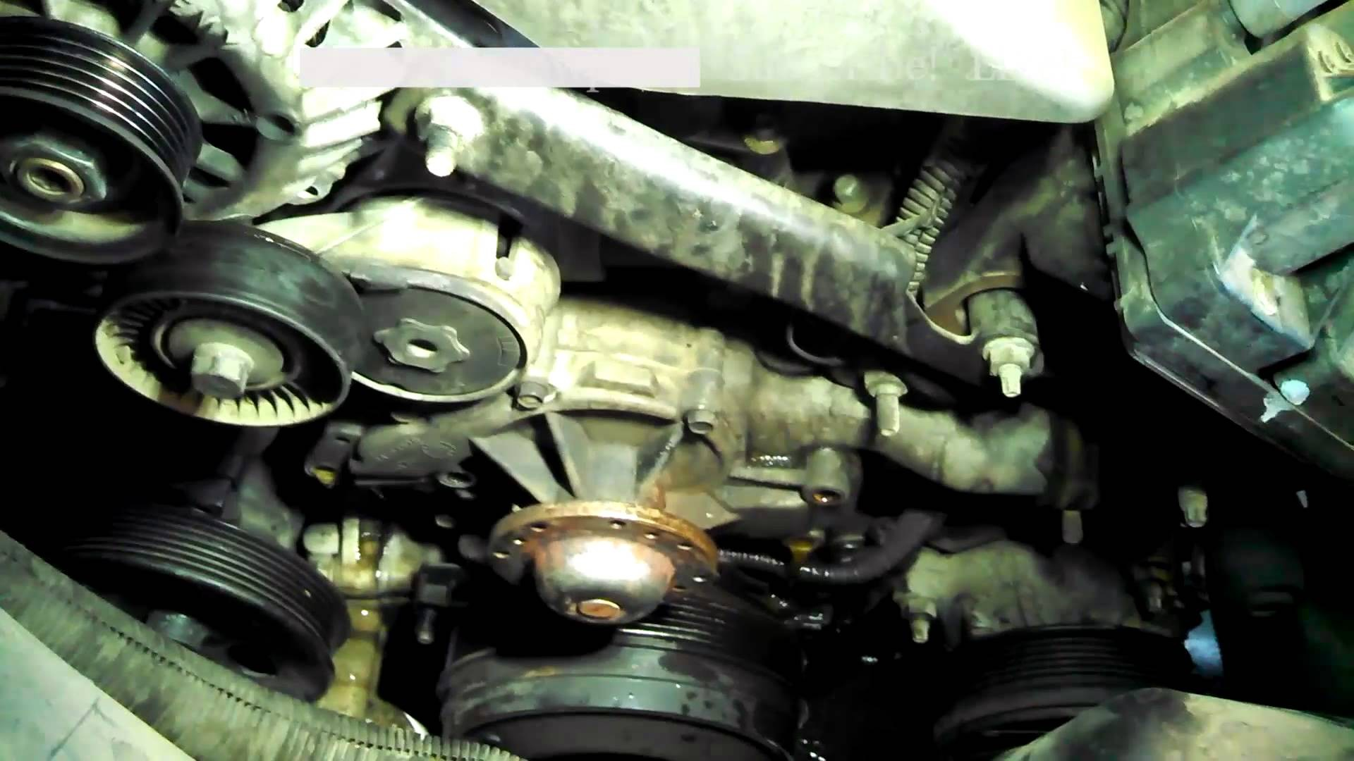 1999 Chevy Lumina Engine Diagram Water Pump Replacement 1998 Chevrolet  Lumina 3 8l V6 Install Remove