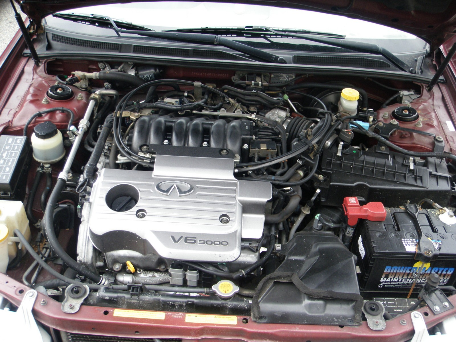 1999 Infiniti I30 Engine Diagram