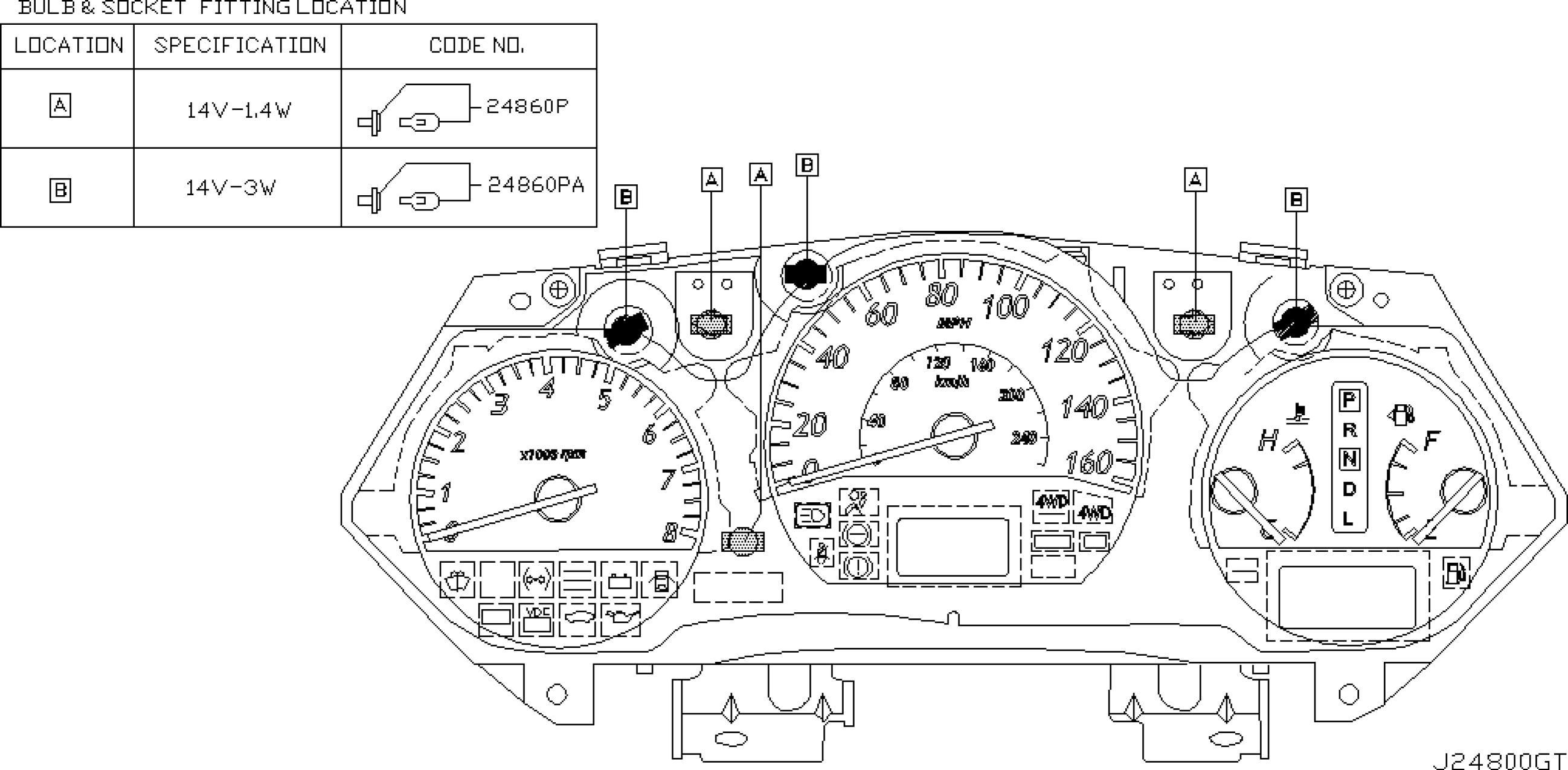 1999 Nissan Altima Engine Diagram 2007 Nissan Altima Bination Lamp  Xenontype Parts Diagram Car Of 1999