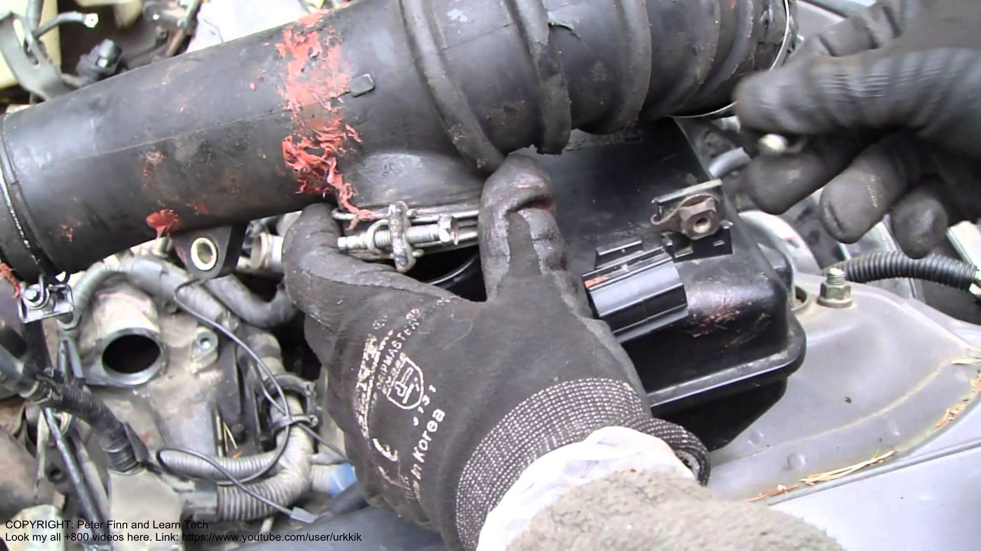 1999 Toyota Camry 4 Cylinder Engine Diagram How To Disassemble 2 Intake Hose Liter Years