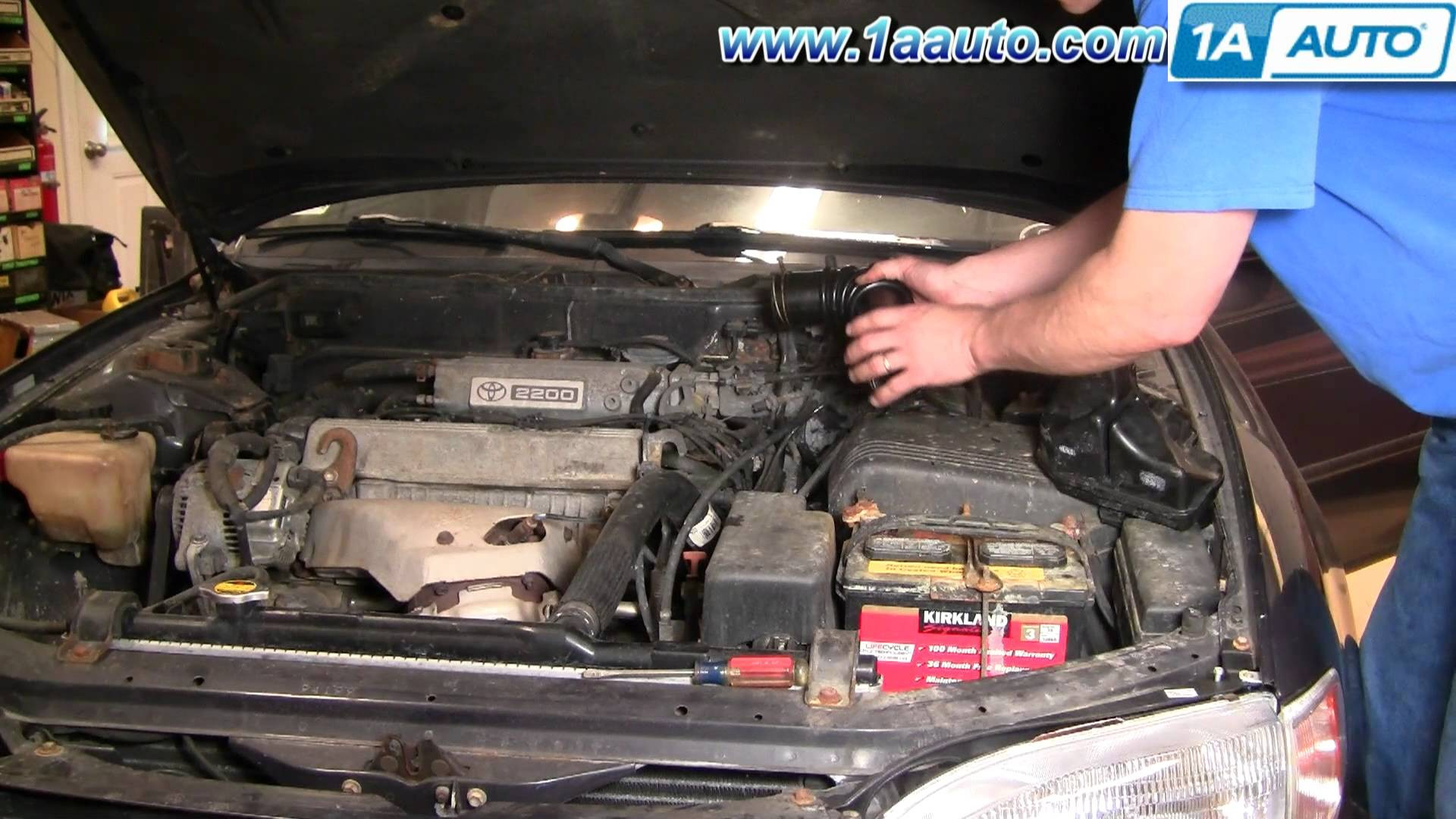 1999 Sienna Engine Diagram Toyota Wiring Library How To Install Replace Air Intake Hose Camry 2 2l 95 96 1aauto
