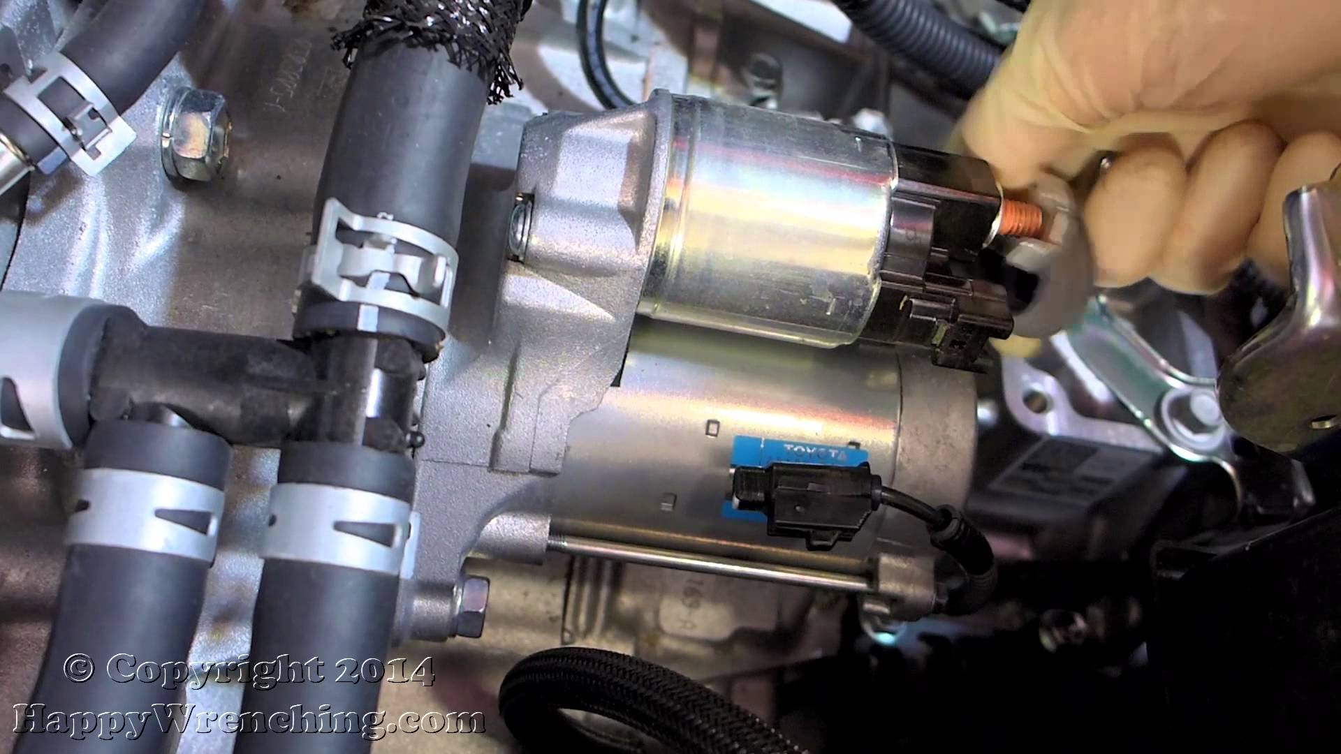 1999 Toyota Camry 4 Cylinder Engine Diagram My Wiring 2 Starter Replacement Removal And Installation 5l