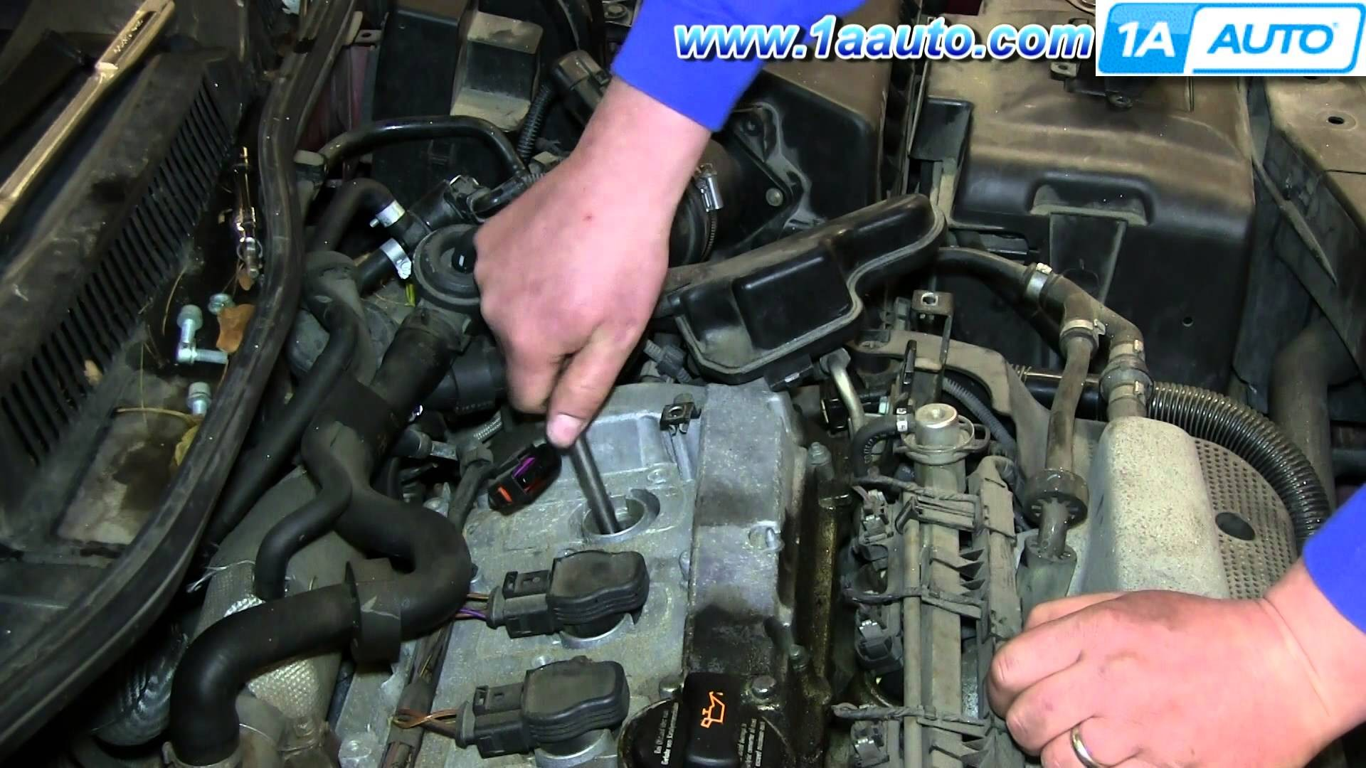 1999 Vw Passat Engine Diagram How to Install Replace Change Spark Plugs Vw Volkswagen 1 8t Turbo Of 1999 Vw Passat Engine Diagram