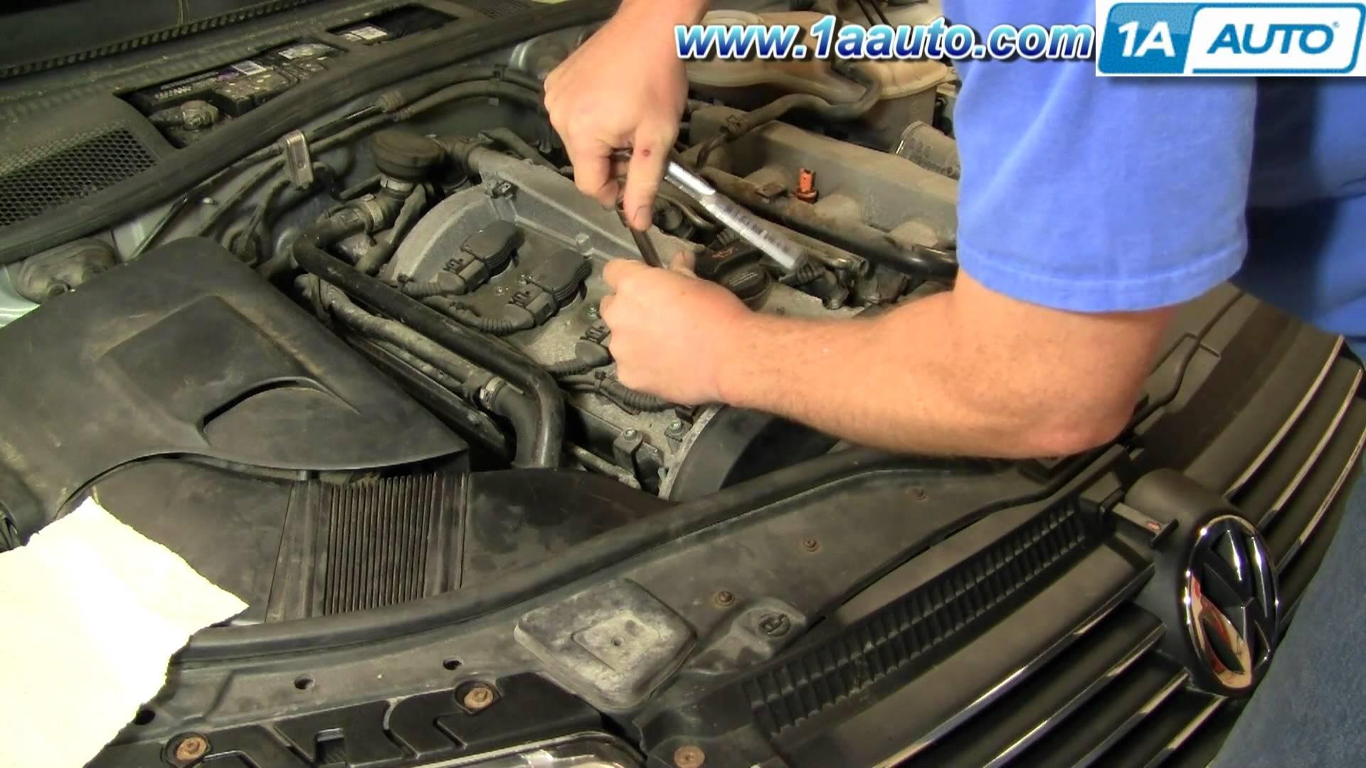 1999 Vw Passat Engine Diagram How to Install Replace Spark Plugs Volkswagen Passat 1 8t 1aauto Of 1999 Vw Passat Engine Diagram