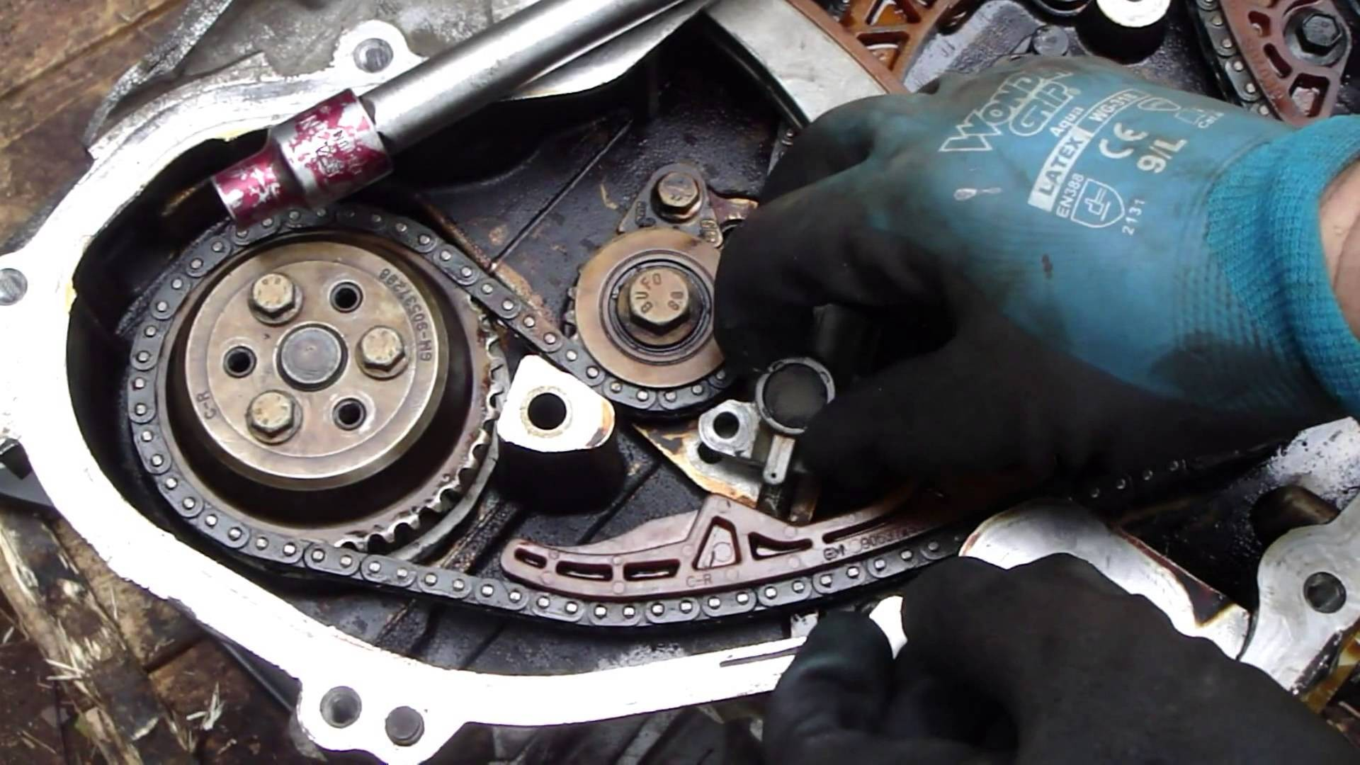 2 2 Ecotec Engine Diagram 2 How to Do Timing Chain Tensioner Check and  Replace Gm