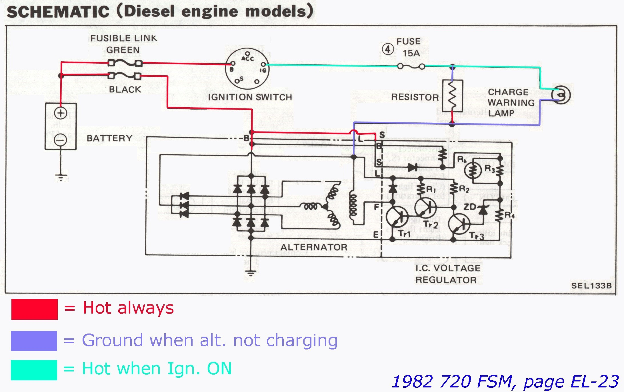 2 Wire Alternator Wiring Diagram Simple Awesome 3 Of