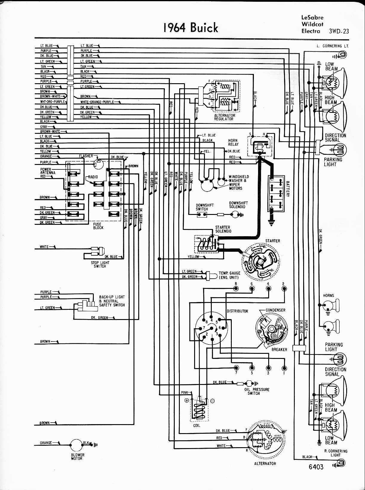 1964 Buick Skylark Fuse Box Diagram Wiring Schematic 1966 C10 Chevy Truck Diagrams On 1967 Rh Lolinewr Today Brochure 1991