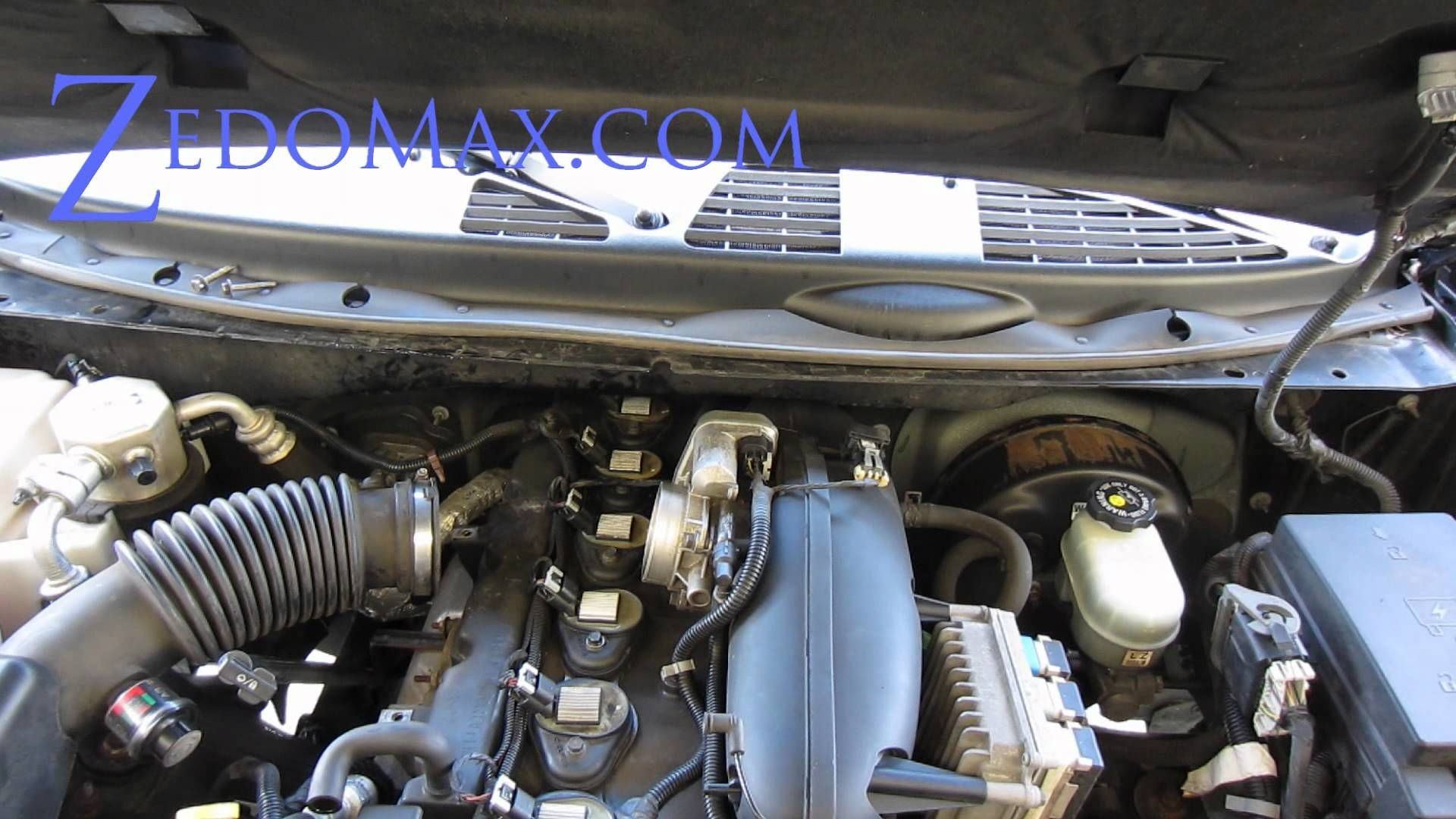 2000 Chevy Blazer Engine Diagram Wiring Tachometer 1999 How To Replace Ignition Coil Spark Plugs On Trailblazer Of