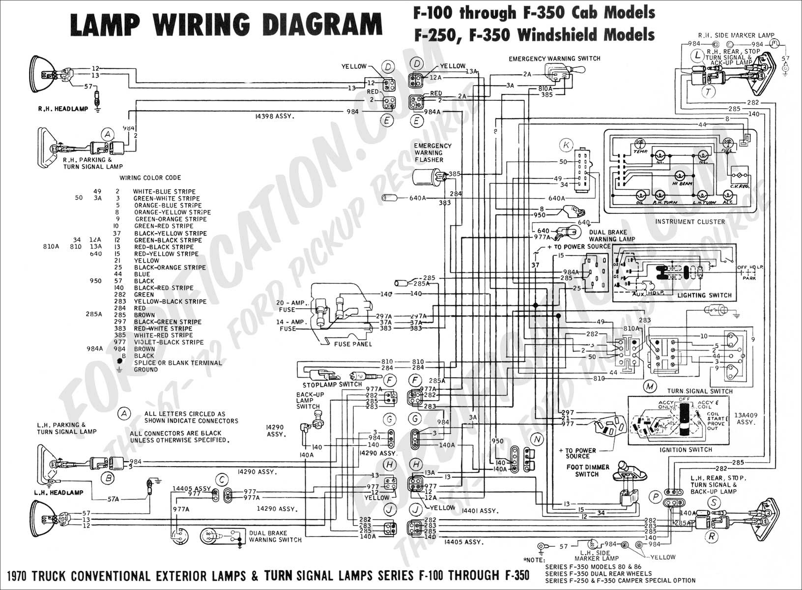 ford e 350 super duty wiring