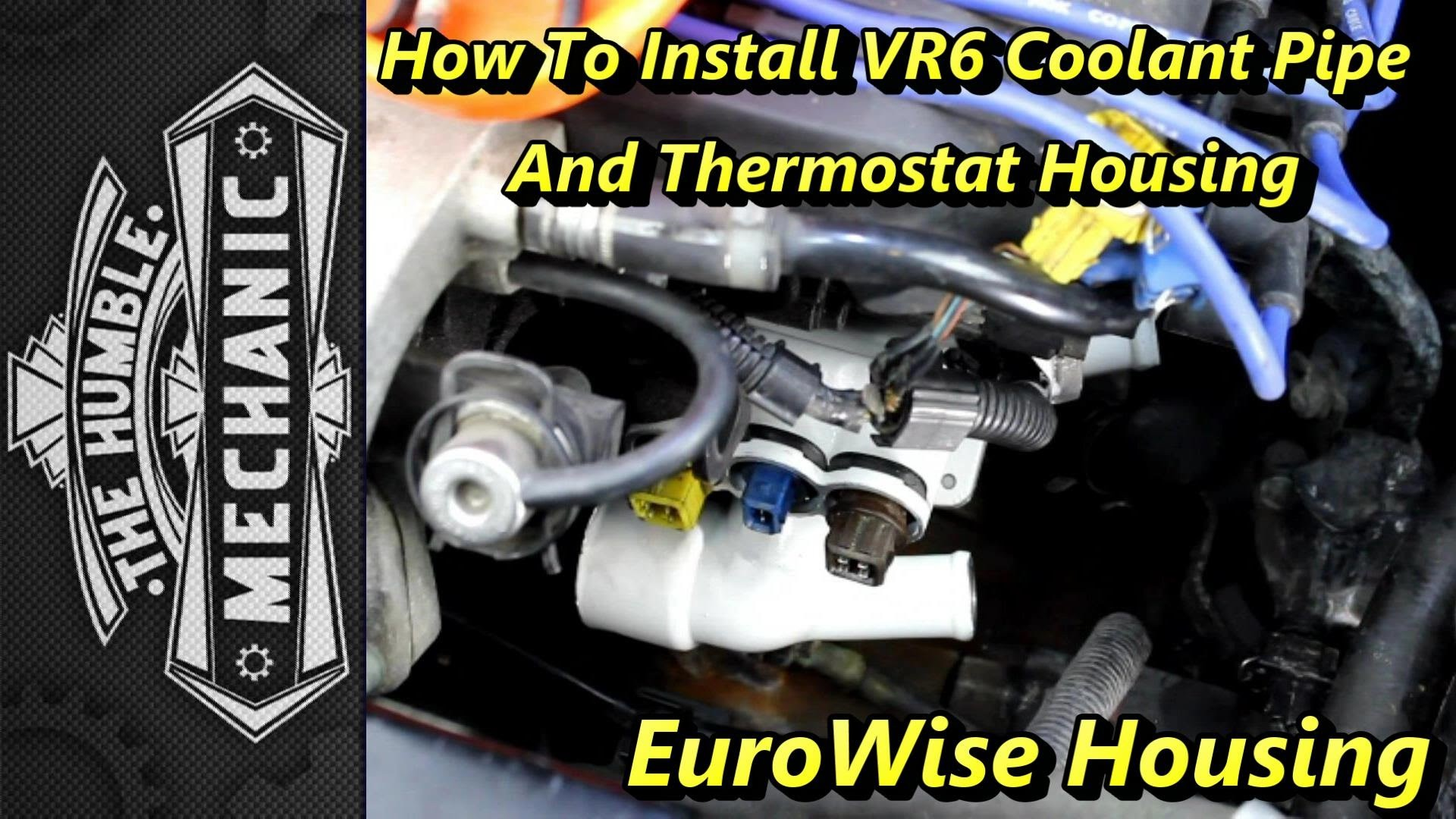 2000 Jetta Vr6 Engine Diagram thermostat Replacement with Upgraded thermostat Housing Of 2000 Jetta Vr6 Engine Diagram