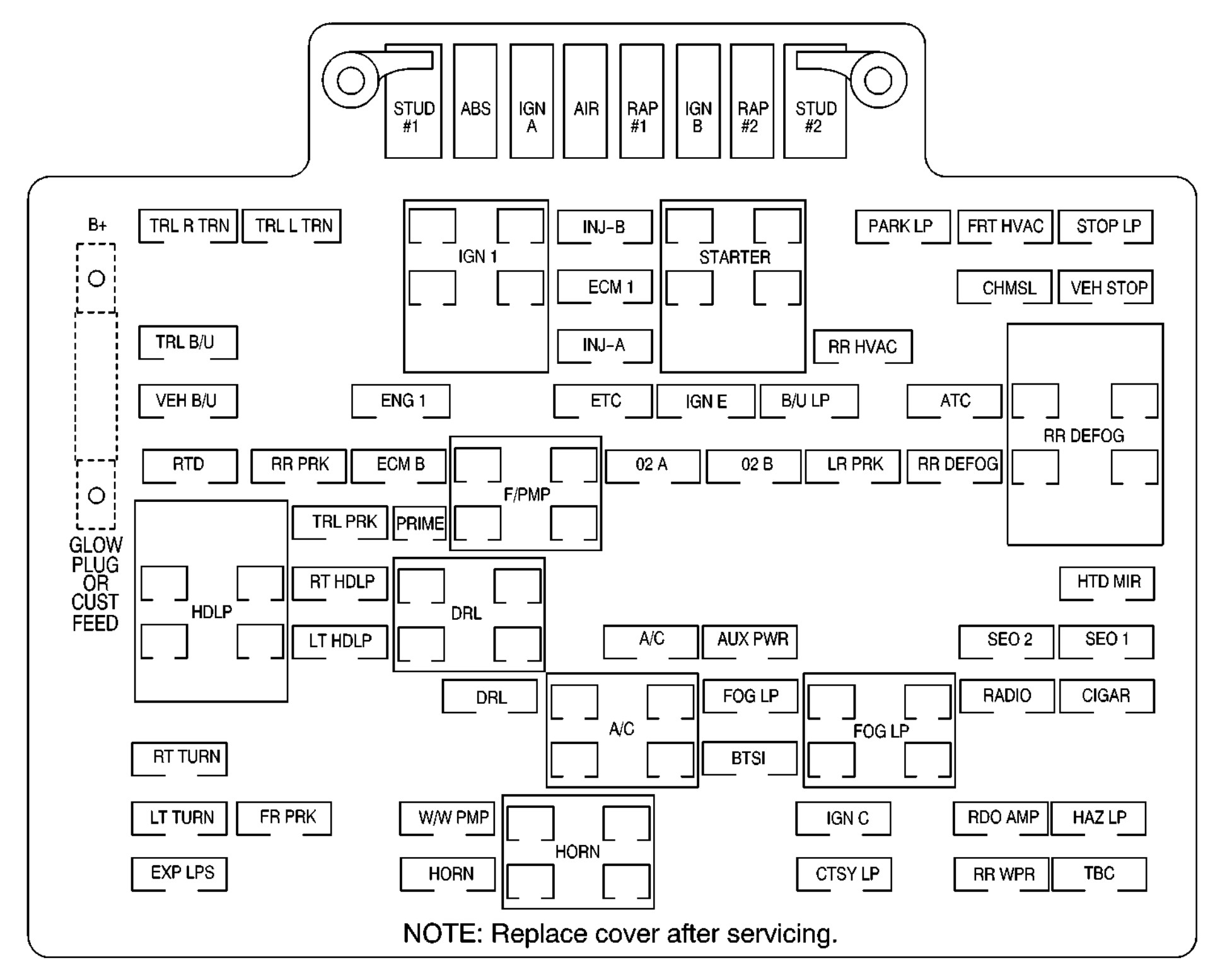 2000 lincoln town car fuse box diagram 1999 lincoln town