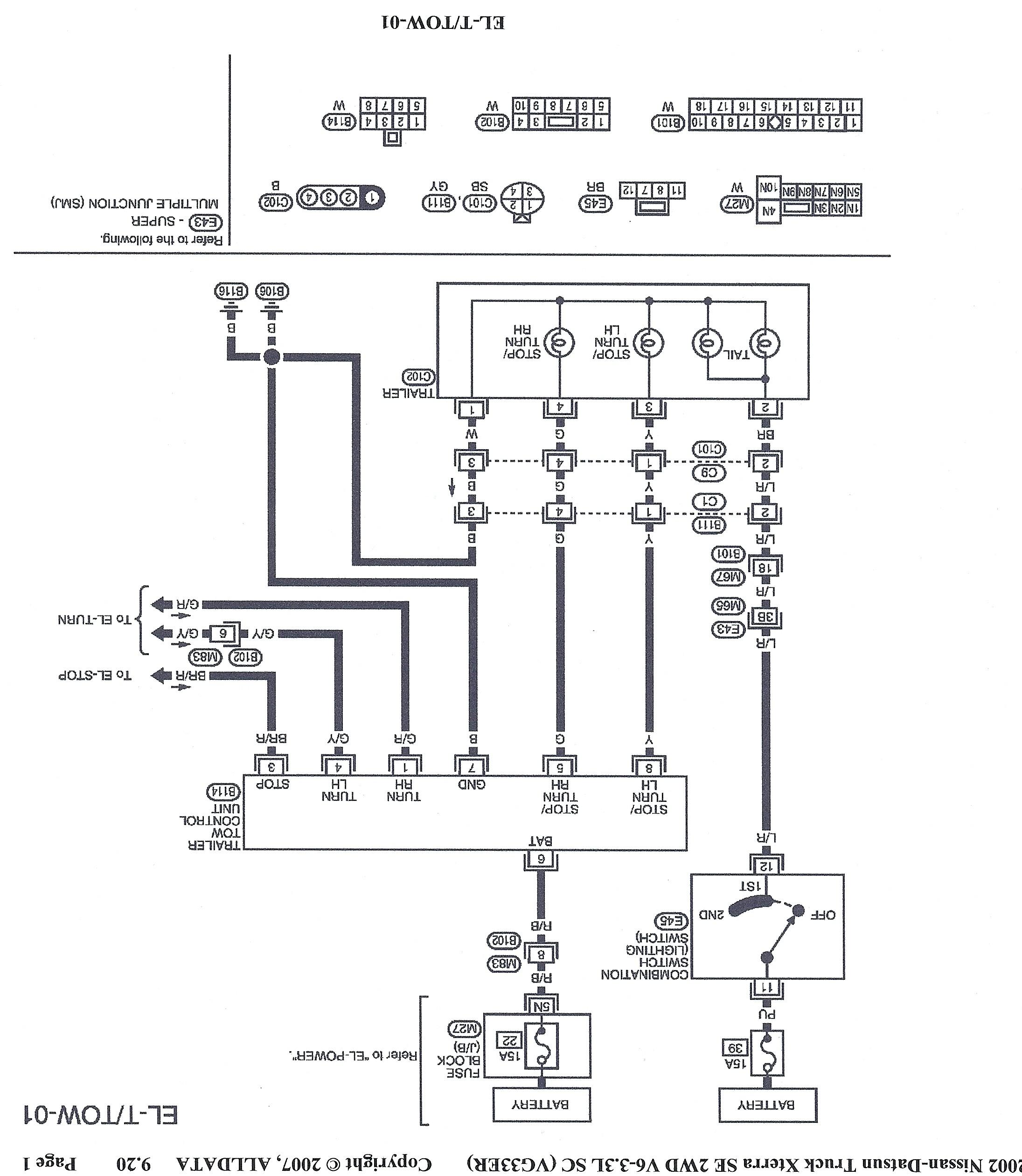 2000 nissan frontier engine diagram wiring diagram