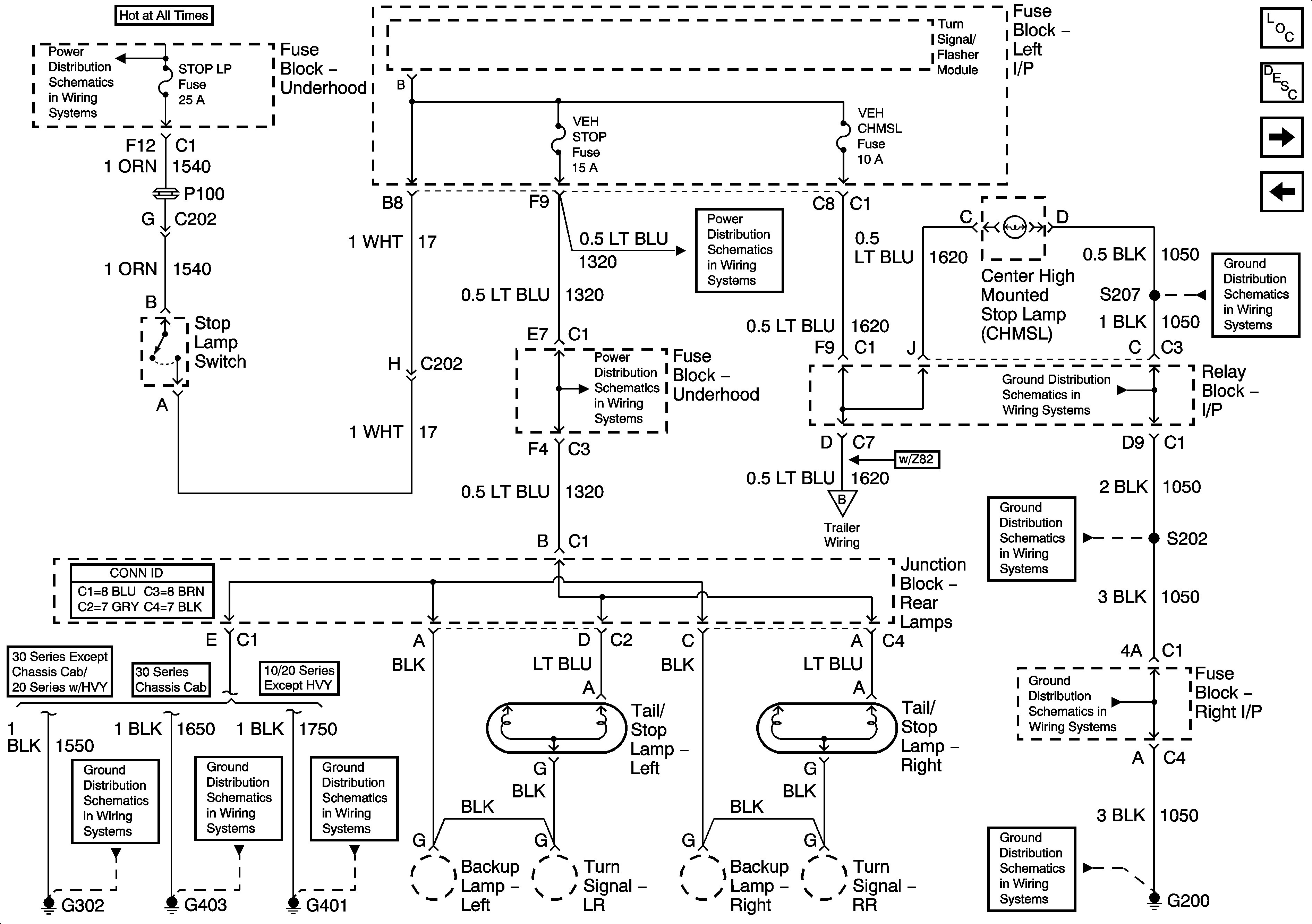 2001 chevy silverado tail light wiring diagram 1957 chevy